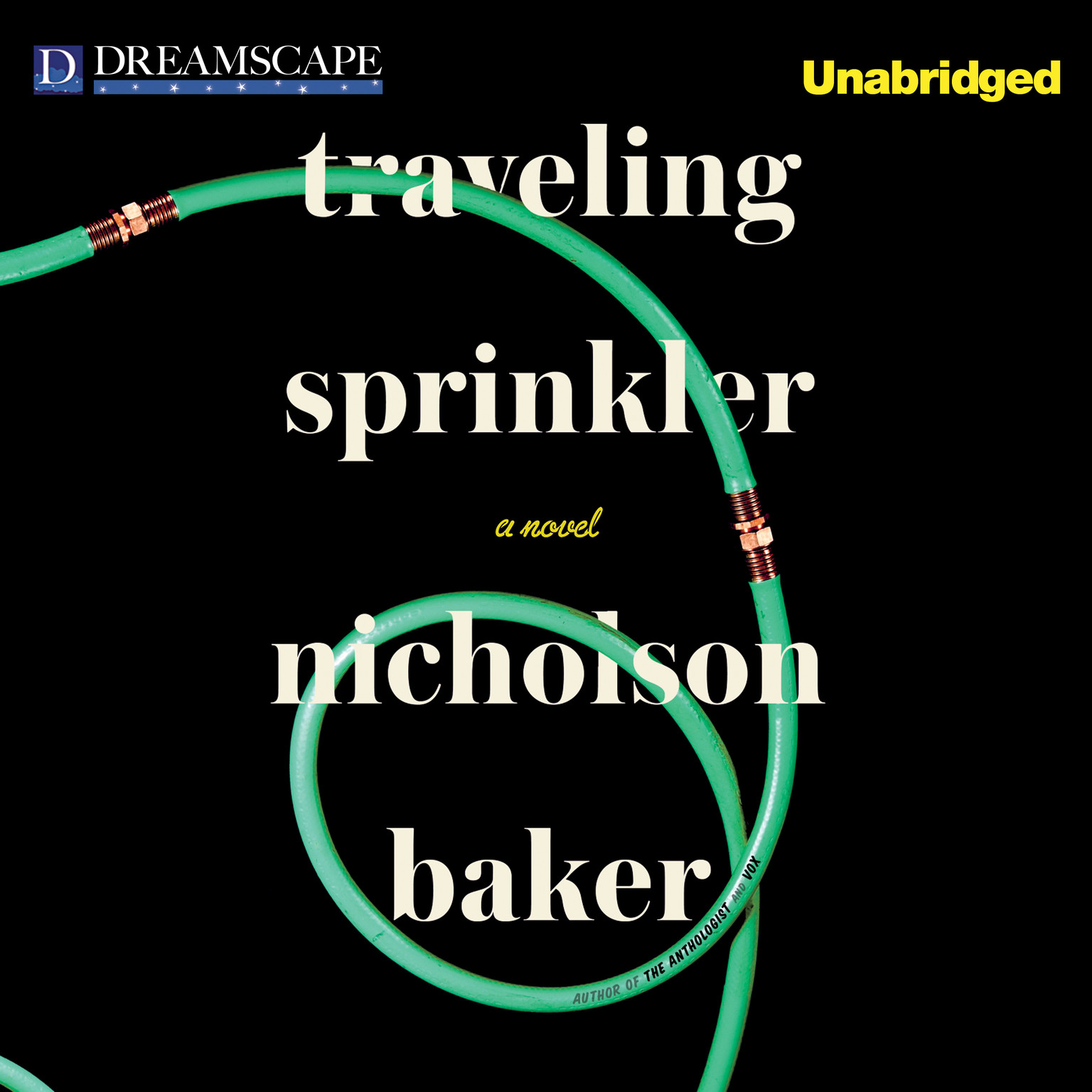 Printable Traveling Sprinkler Audiobook Cover Art