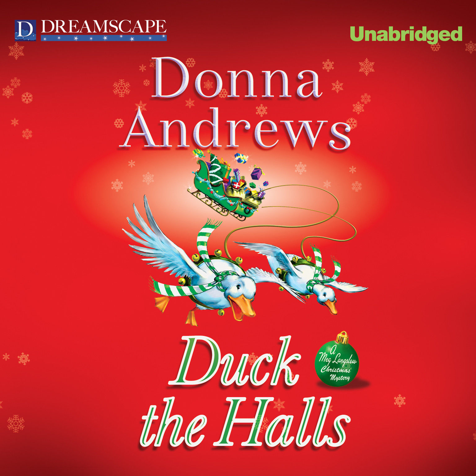 Printable Duck the Halls Audiobook Cover Art