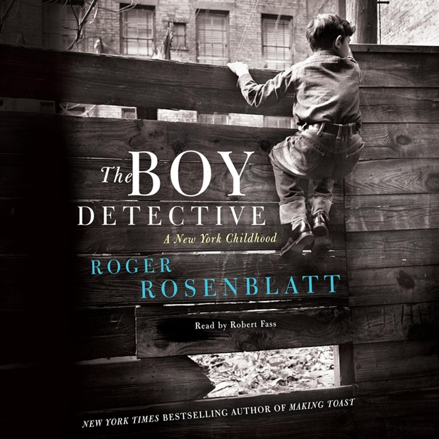 Printable The Boy Detective: A New York Childhood Audiobook Cover Art