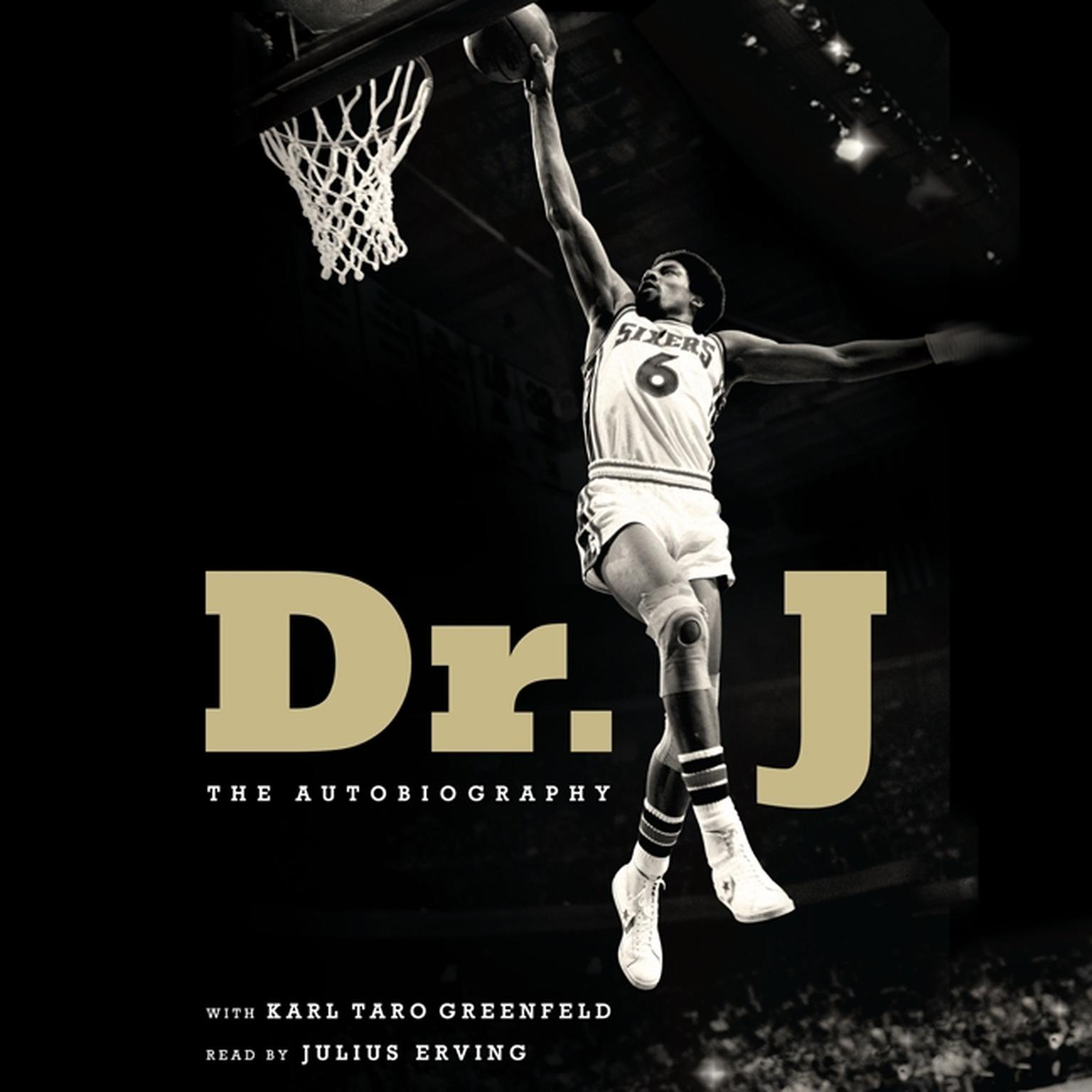 Printable Dr. J: The Autobiography Audiobook Cover Art