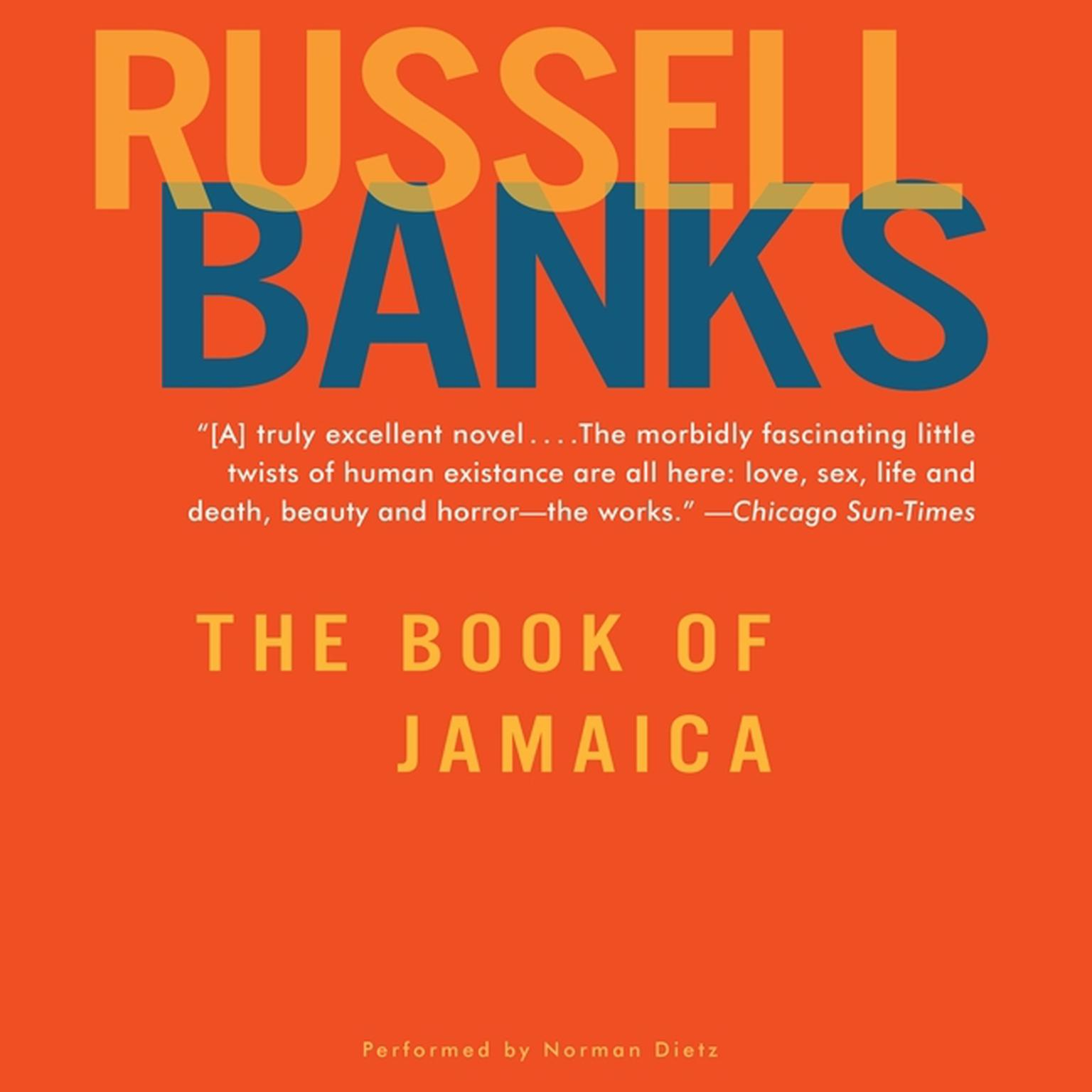 Printable The Book of Jamaica Audiobook Cover Art