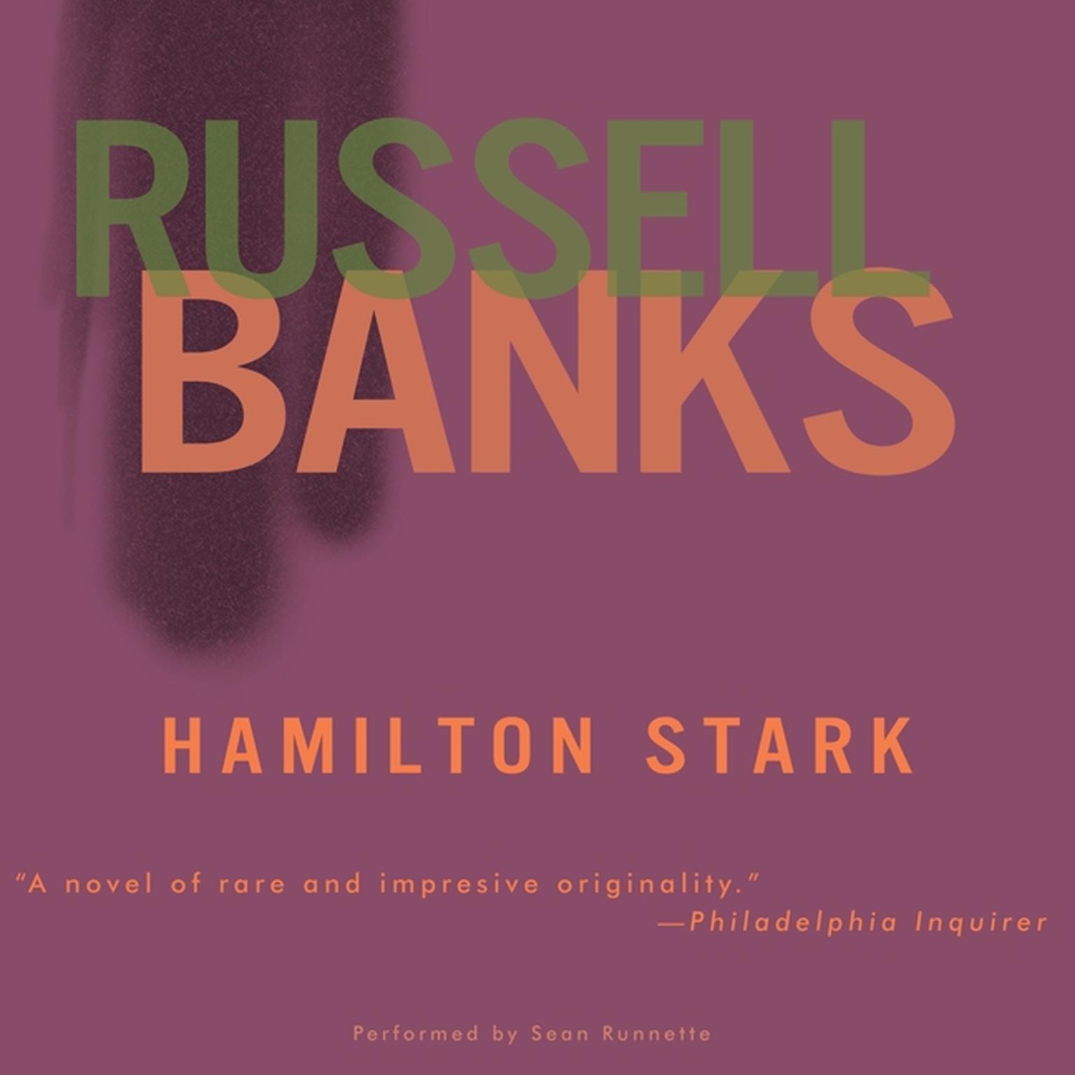 Printable Hamilton Stark Audiobook Cover Art