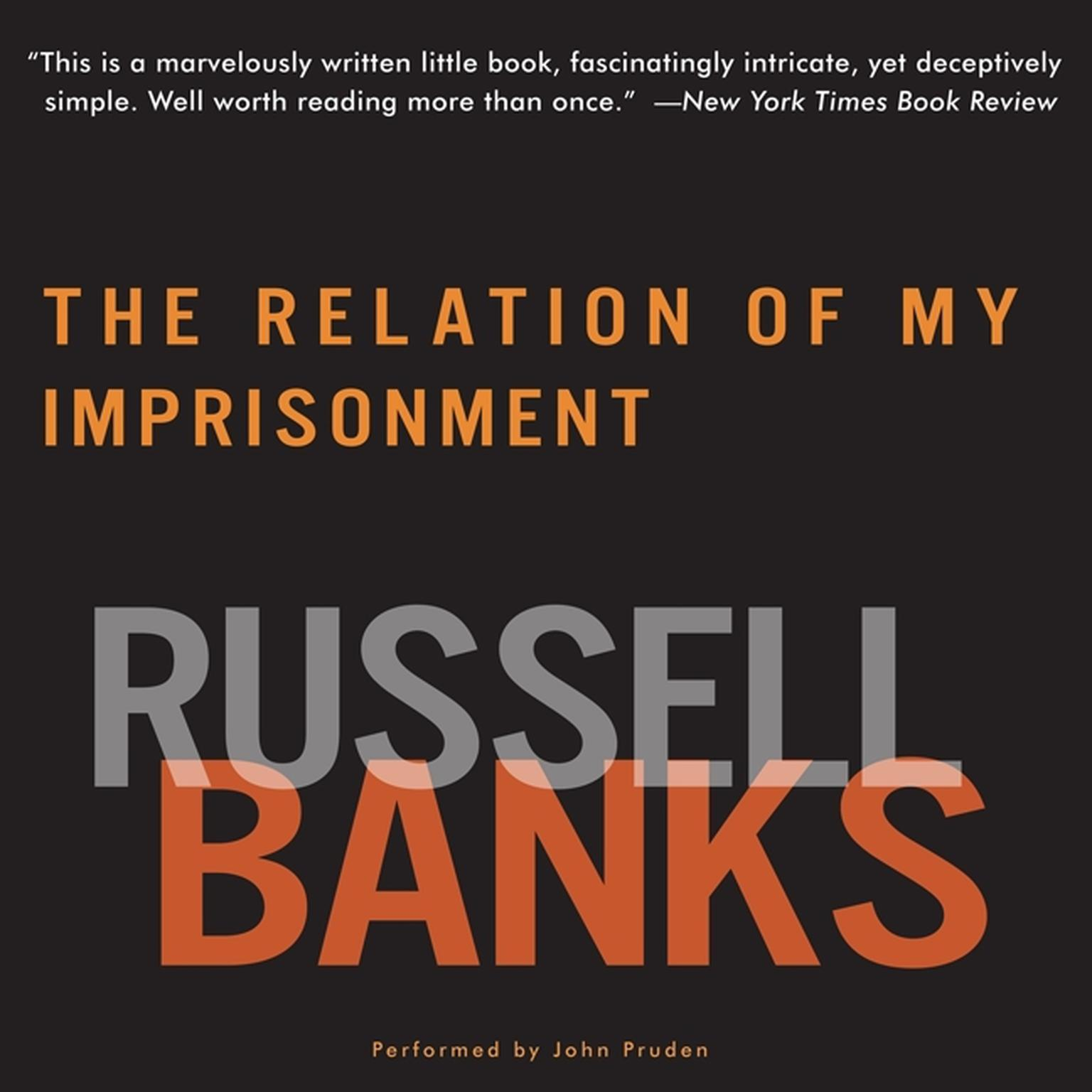 Printable The Relation of My Imprisonment Audiobook Cover Art