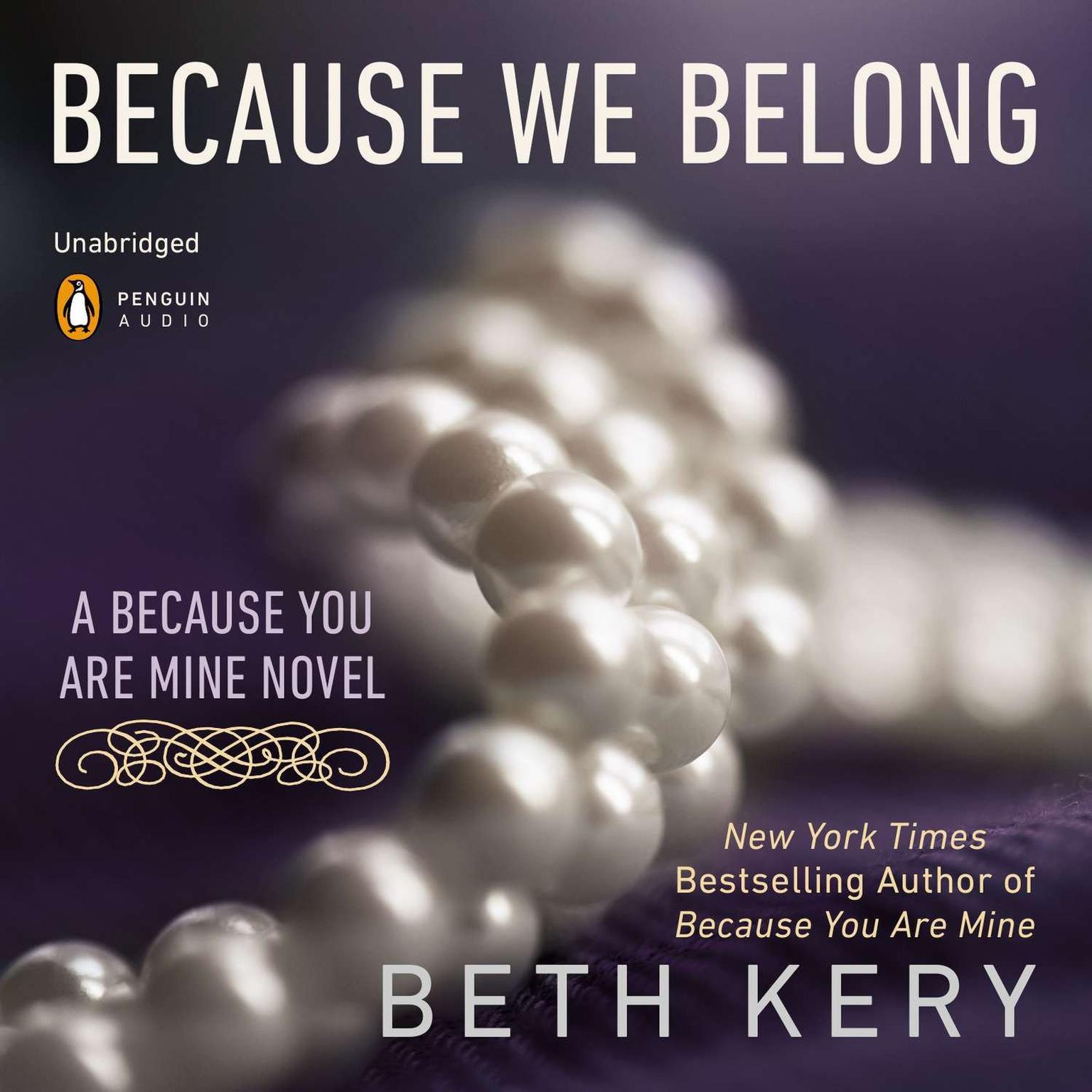 Printable Because We Belong: A Because You Are Mine Novel Audiobook Cover Art