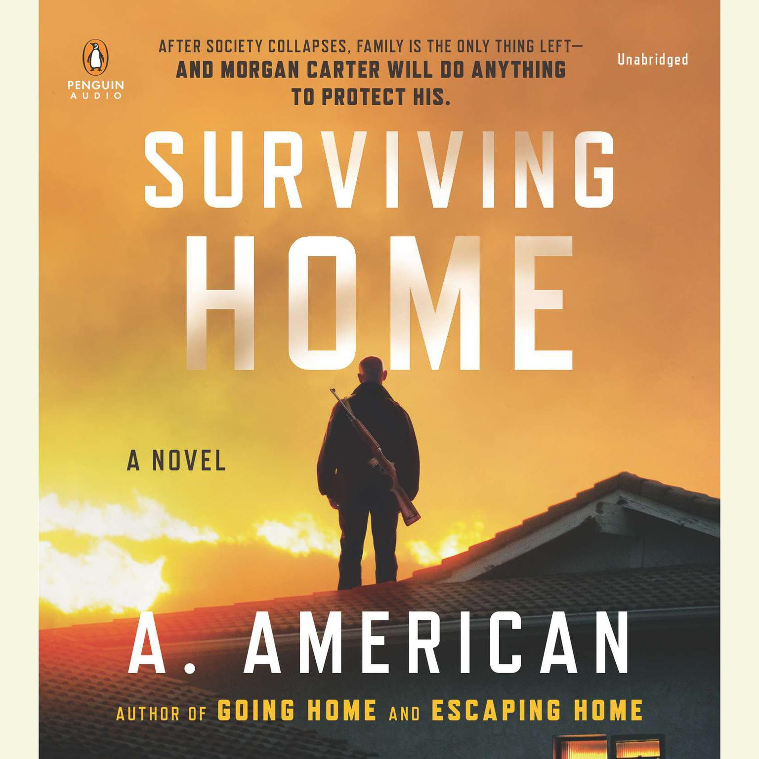 Printable Surviving Home: A Novel Audiobook Cover Art