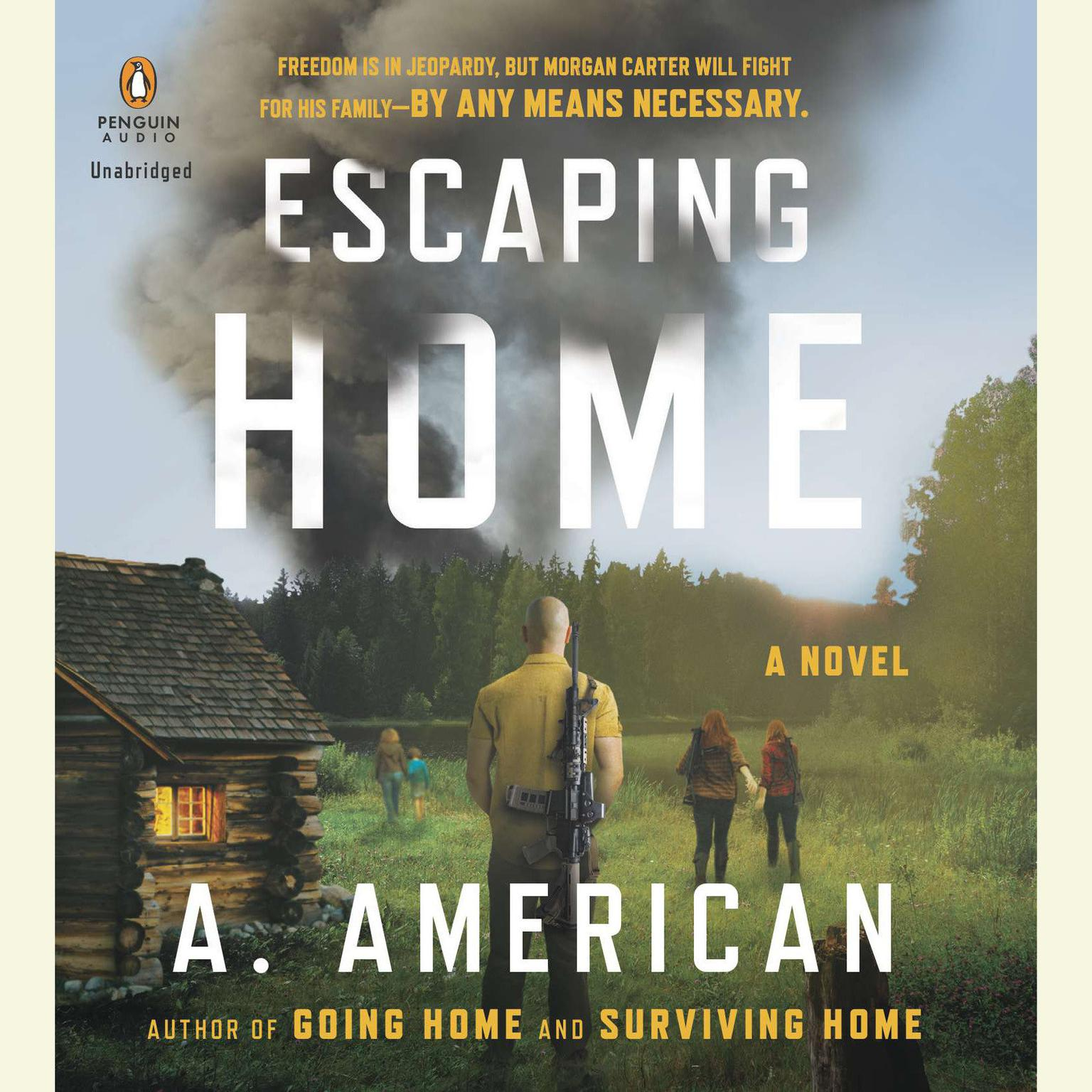 Printable Escaping Home: A Novel Audiobook Cover Art