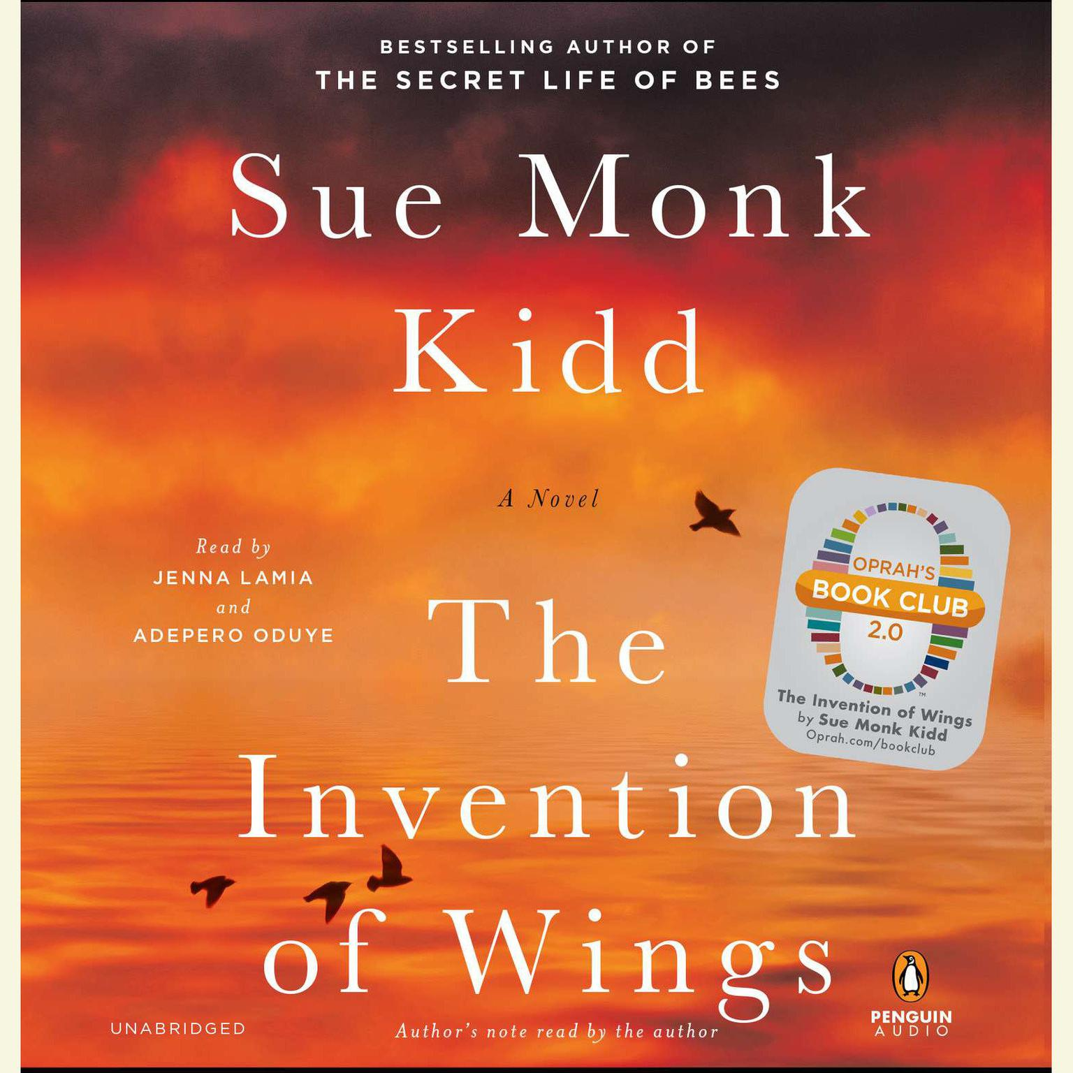 Printable The Invention of Wings: A Novel Audiobook Cover Art