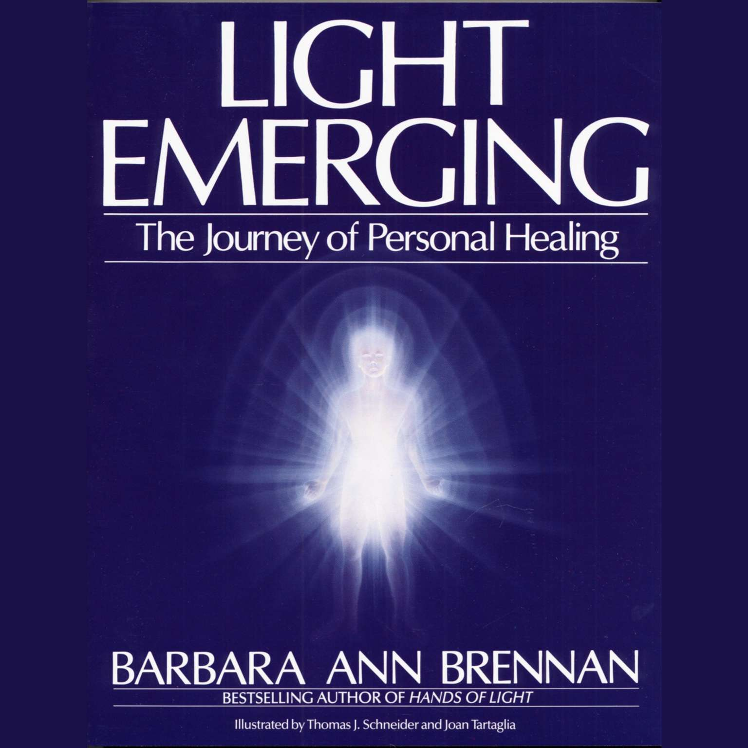 Printable Light Emerging: The Journey of Personal Healing Audiobook Cover Art