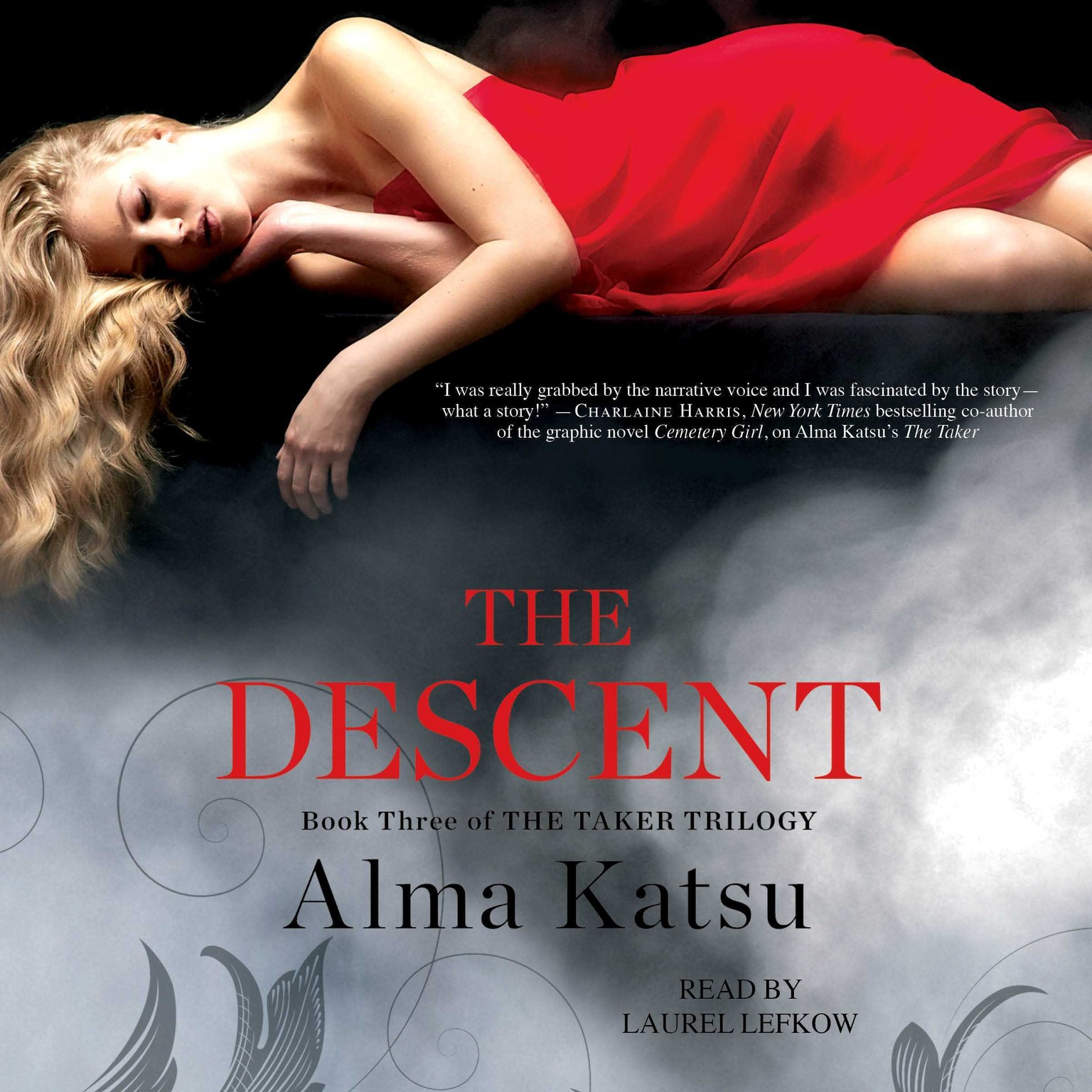 Printable The Descent: Book Three of the Taker Trilogy Audiobook Cover Art