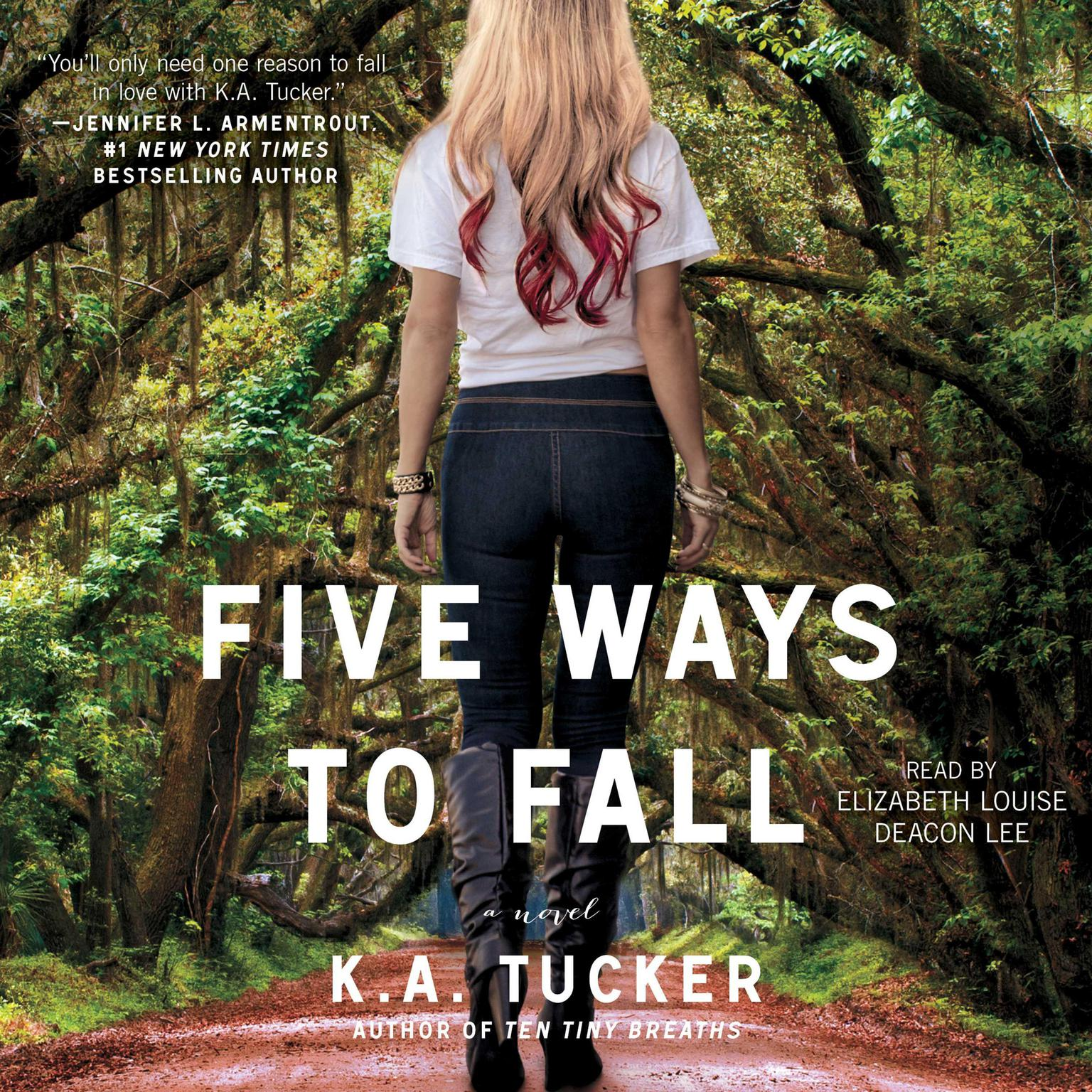 Printable Five Ways to Fall Audiobook Cover Art