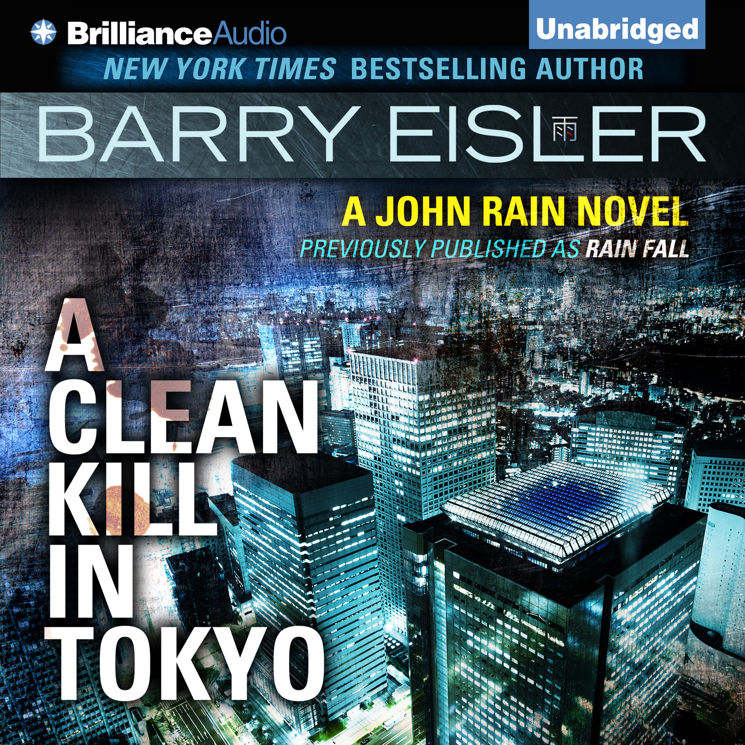 Printable A Clean Kill in Tokyo Audiobook Cover Art