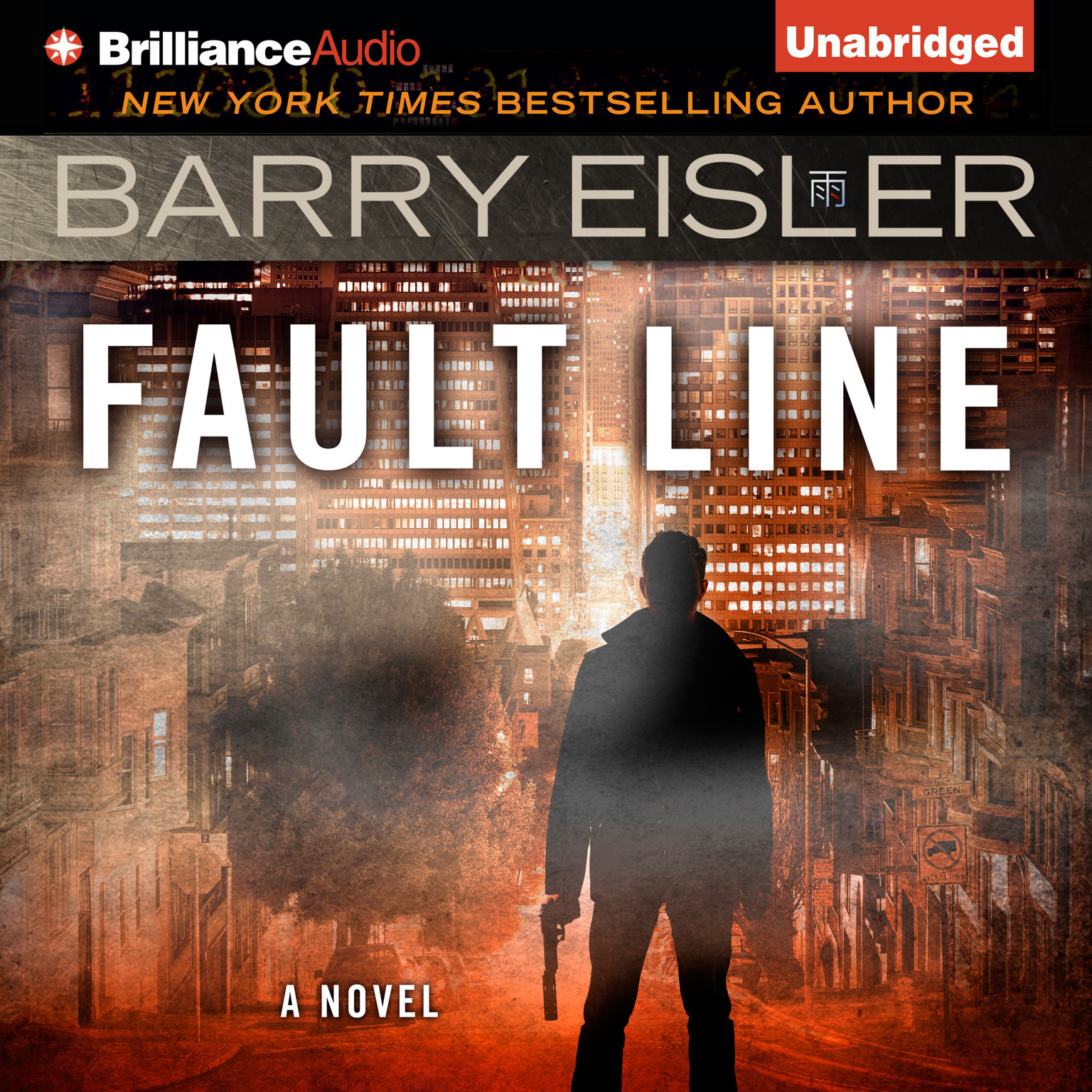Printable Fault Line Audiobook Cover Art