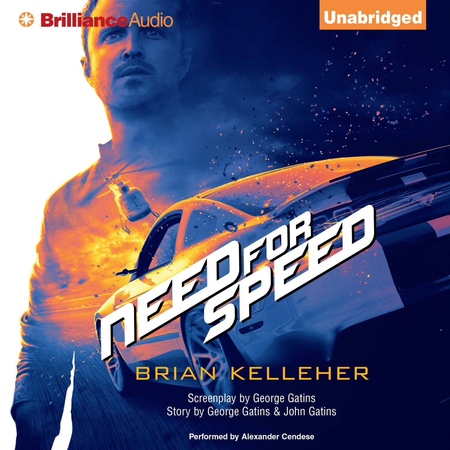 Printable Need for Speed Audiobook Cover Art