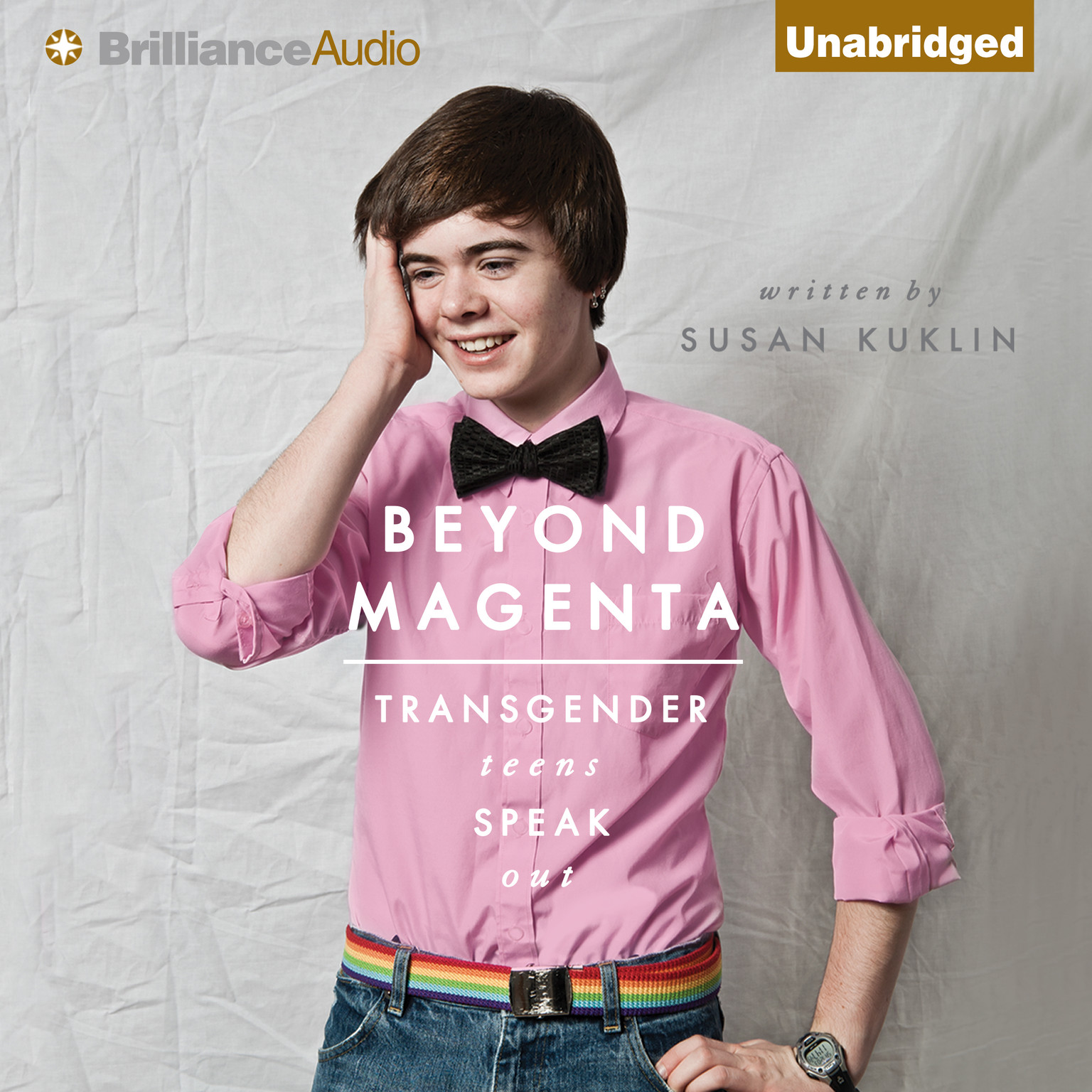 Printable Beyond Magenta: Transgender Teens Speak Out Audiobook Cover Art