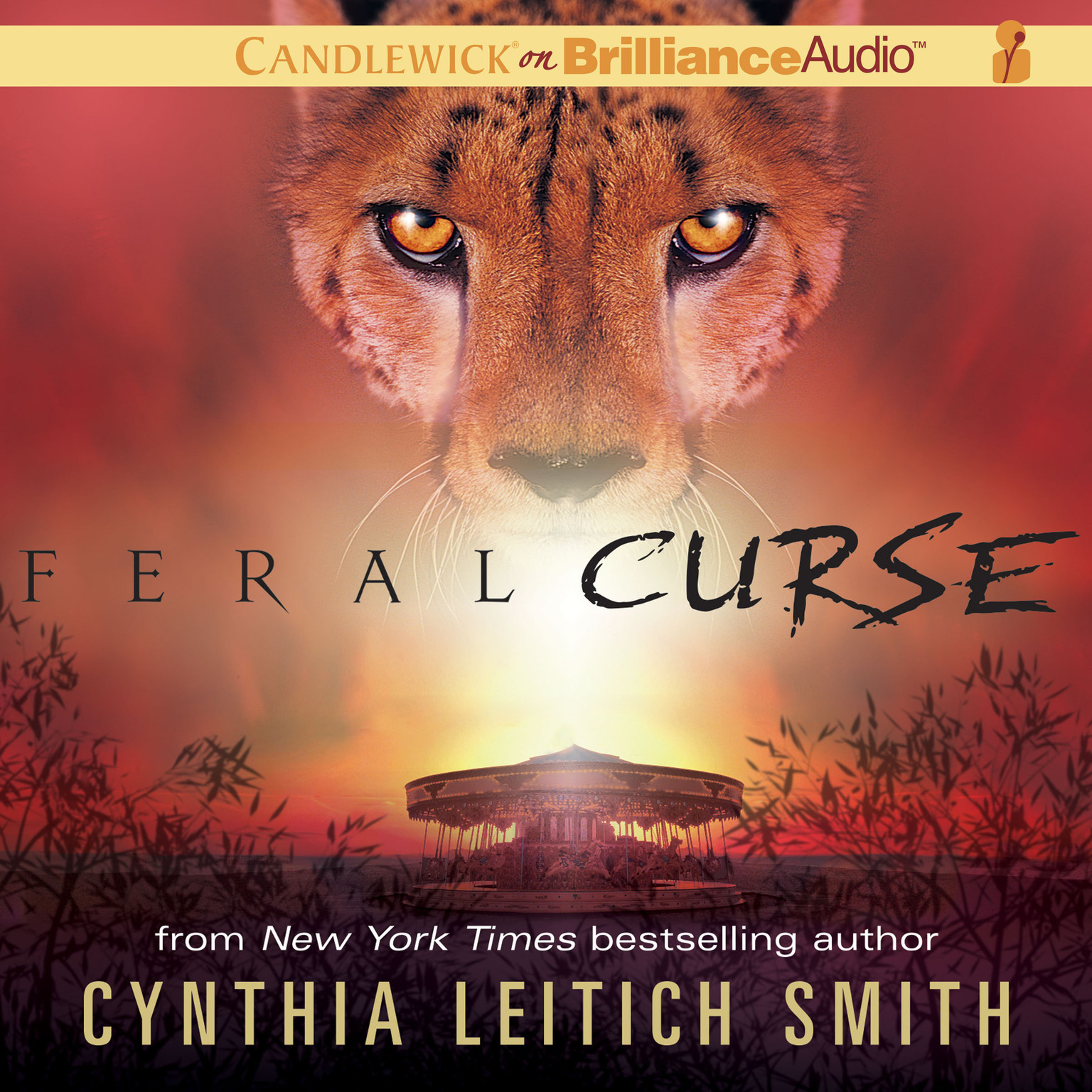Printable Feral Curse Audiobook Cover Art