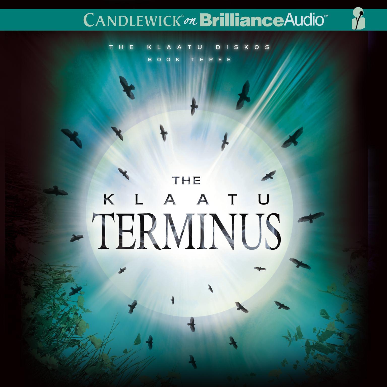 Printable The Klaatu Terminus Audiobook Cover Art