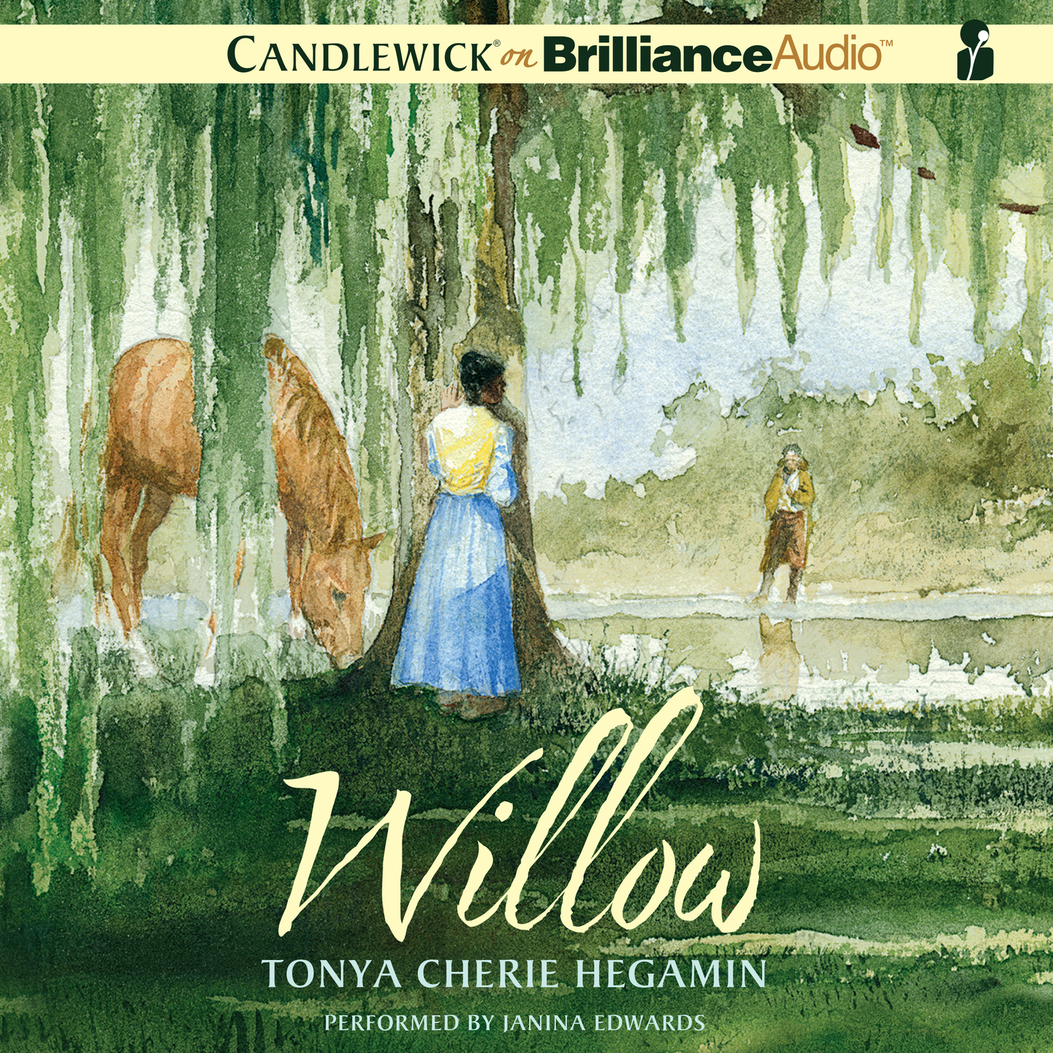 Printable Willow Audiobook Cover Art