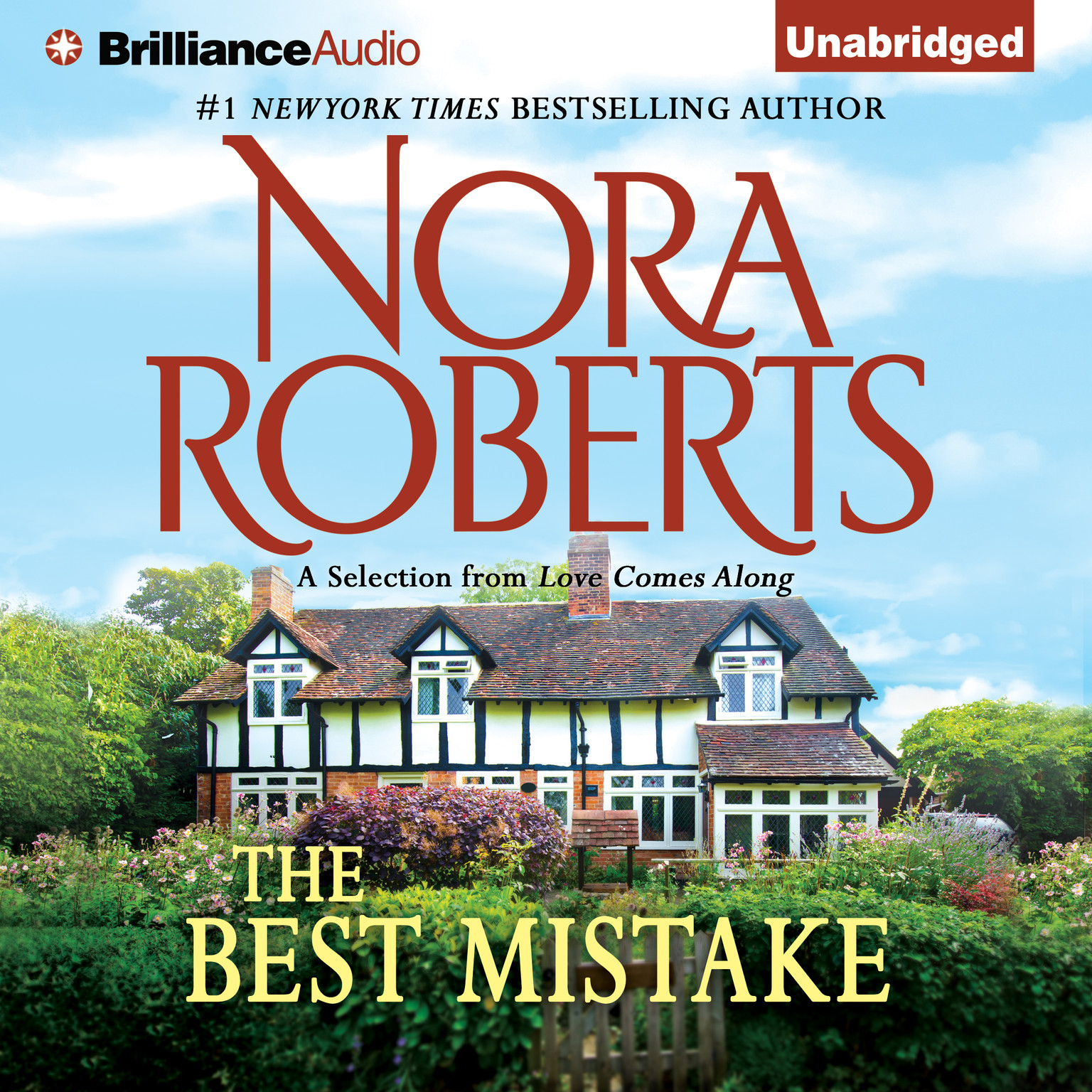 Printable The Best Mistake: A Selection from Love Comes Along Audiobook Cover Art