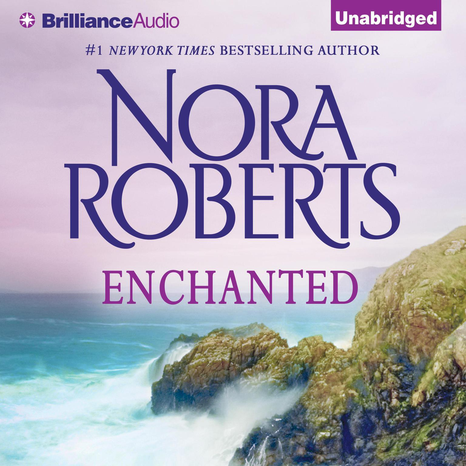 Printable Enchanted Audiobook Cover Art