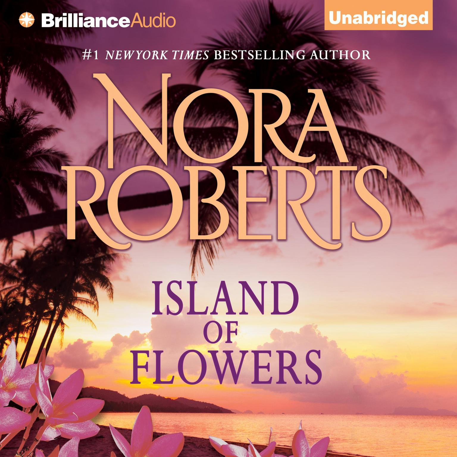 Printable Island of Flowers: A Selection from Winds of Change Audiobook Cover Art