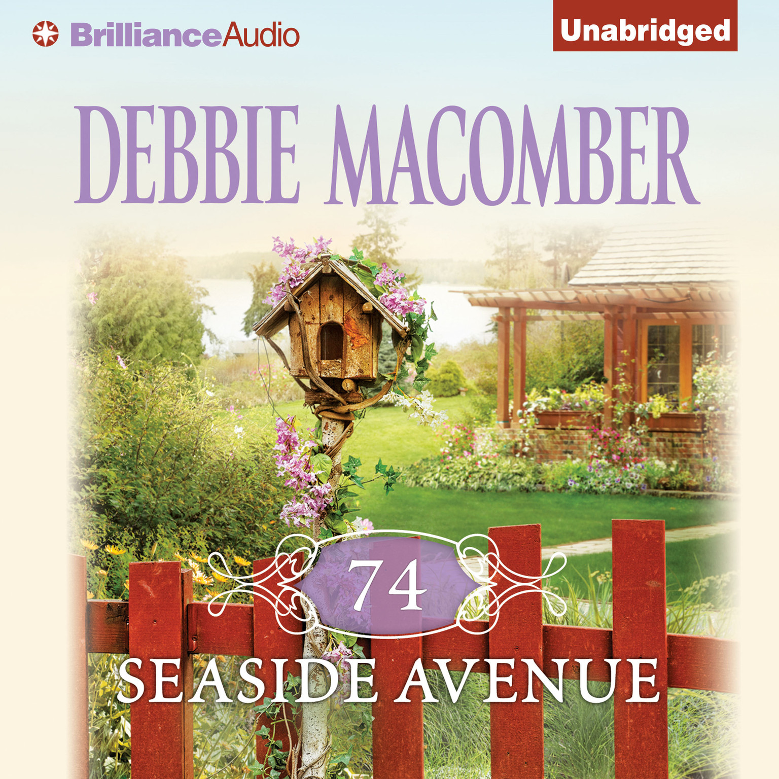 Printable 74 Seaside Avenue Audiobook Cover Art
