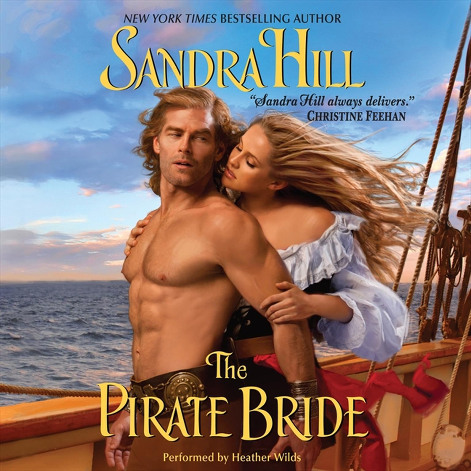 Printable The Pirate Bride Audiobook Cover Art