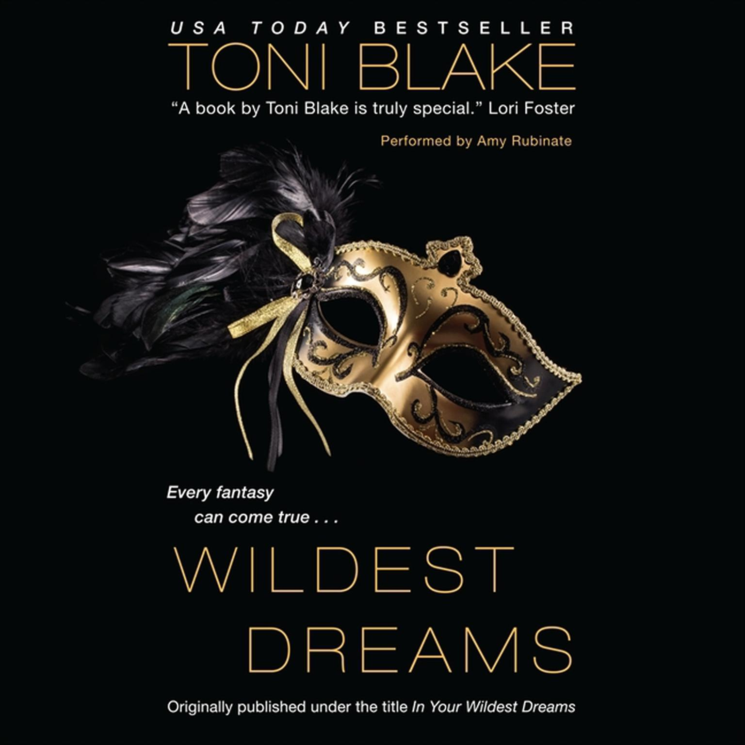 Printable Wildest Dreams Audiobook Cover Art