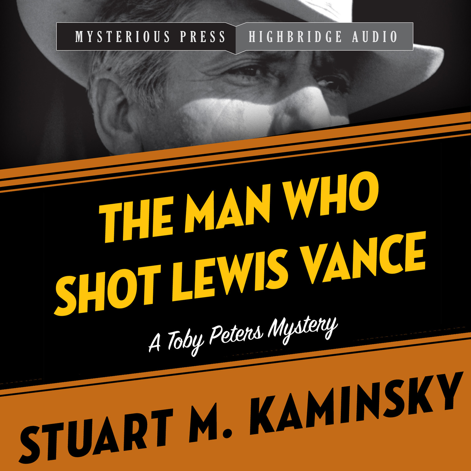 Printable The Man Who Shot Lewis Vance: A Toby Peters Mystery Audiobook Cover Art