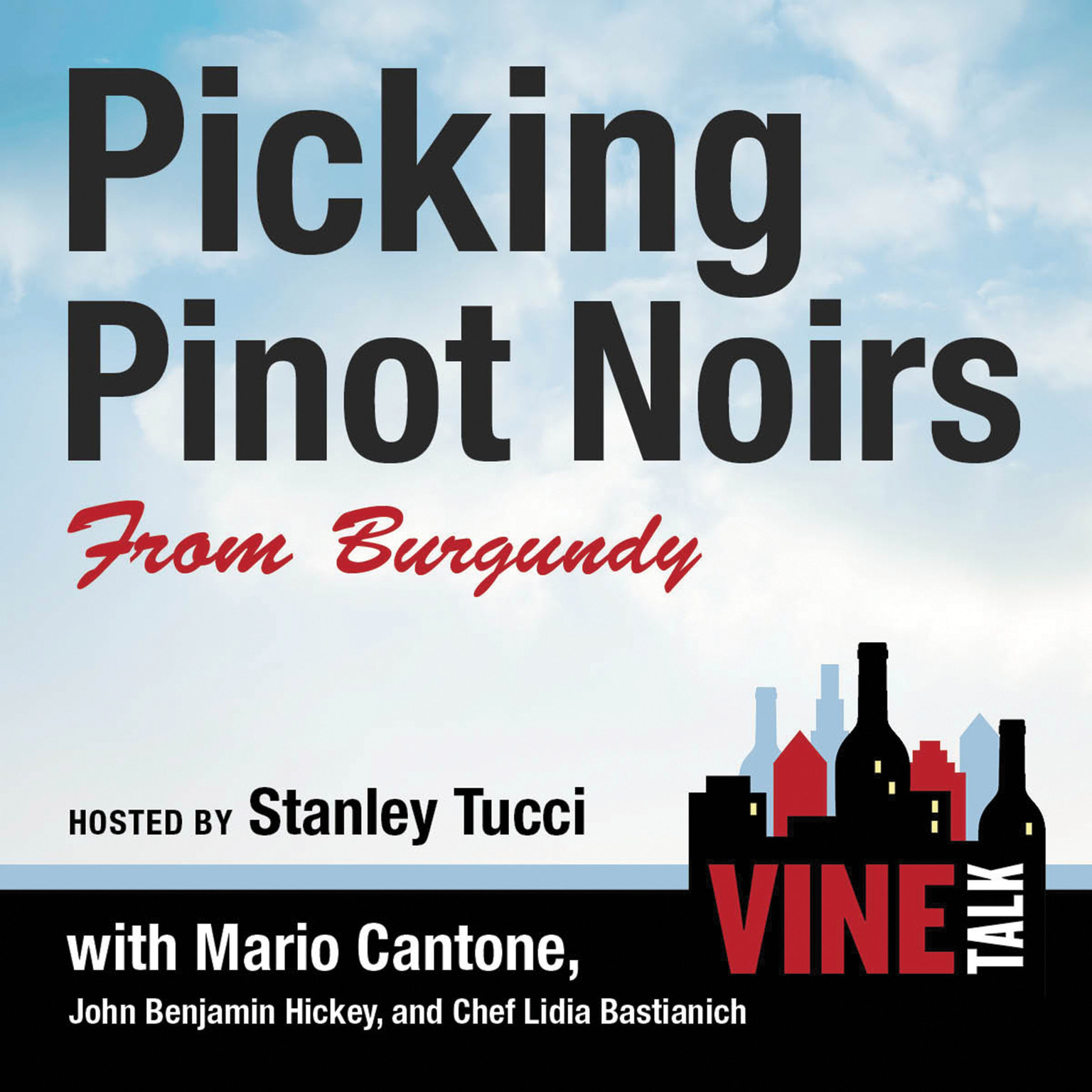 Printable Picking Pinot Noirs from Burgundy: Vine Talk Episode 103 Audiobook Cover Art