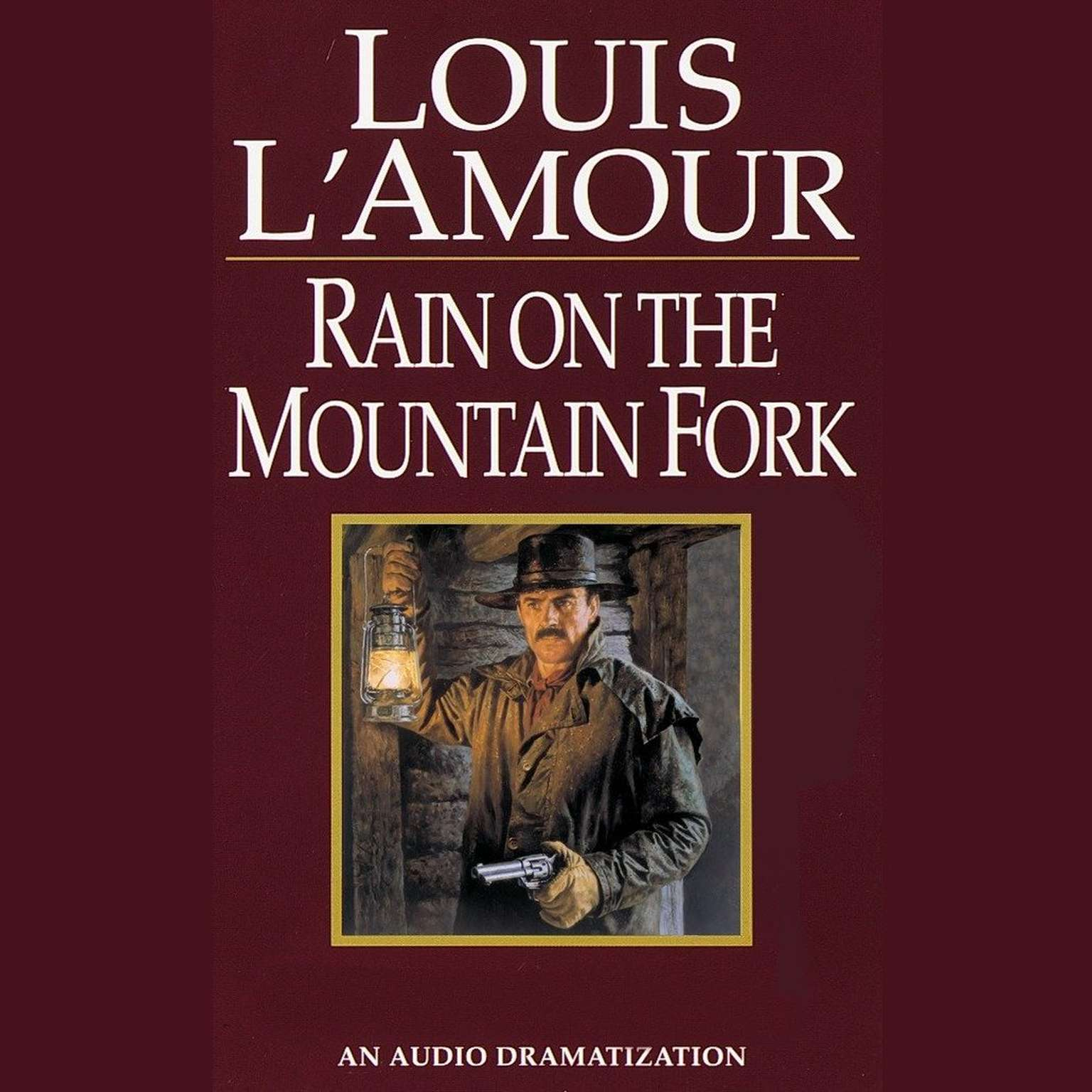 Printable Rain on the Mountain Fork Audiobook Cover Art