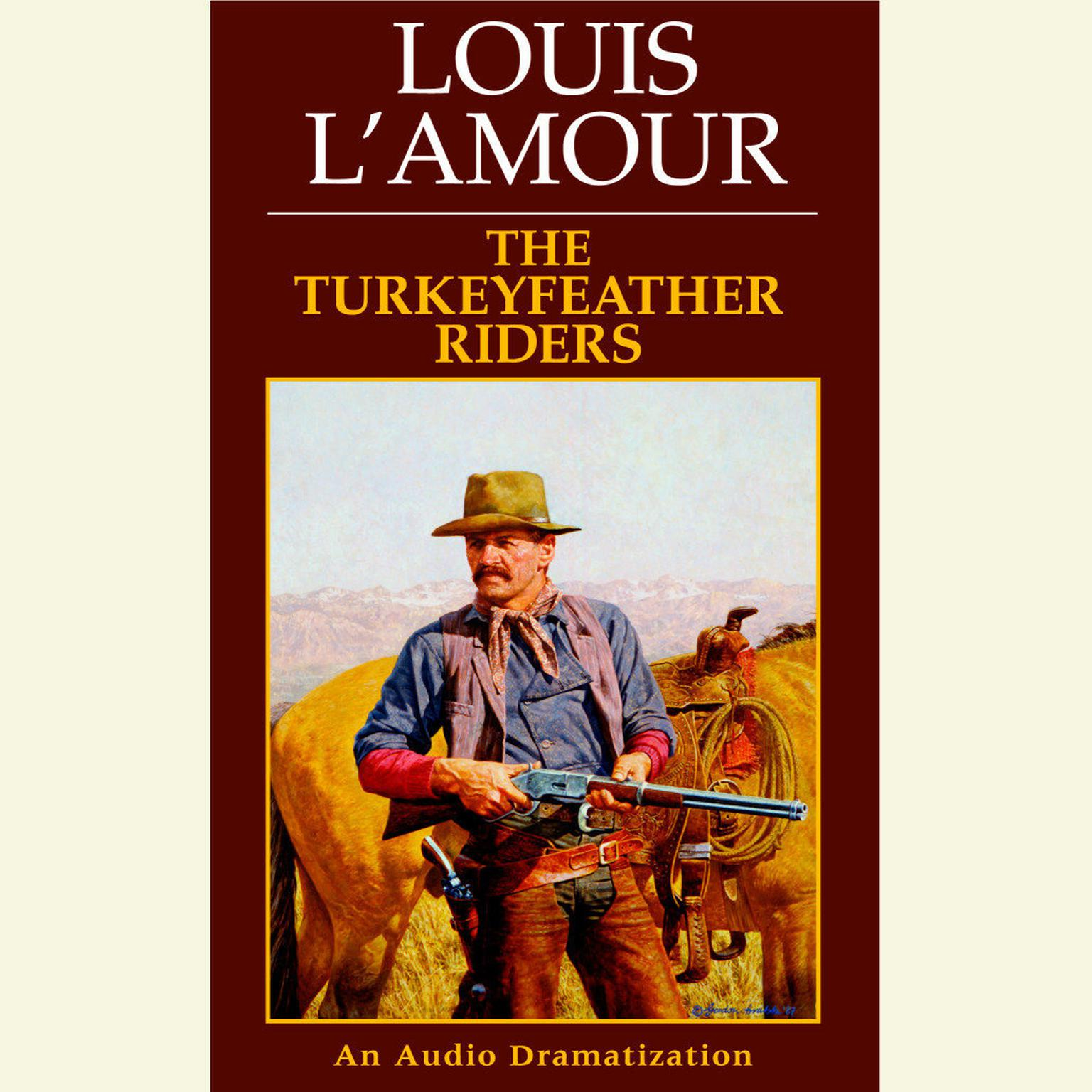 Printable The Turkeyfeather Riders Audiobook Cover Art