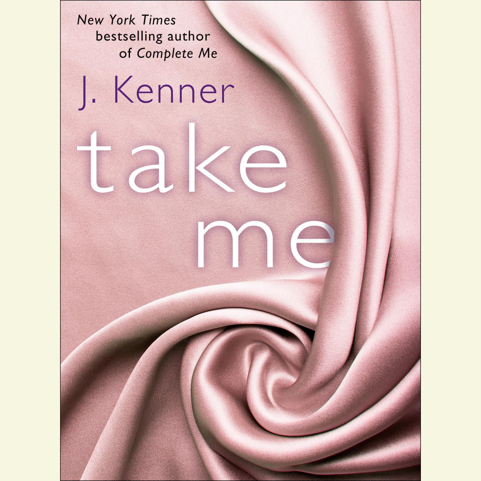 Printable Take Me Audiobook Cover Art