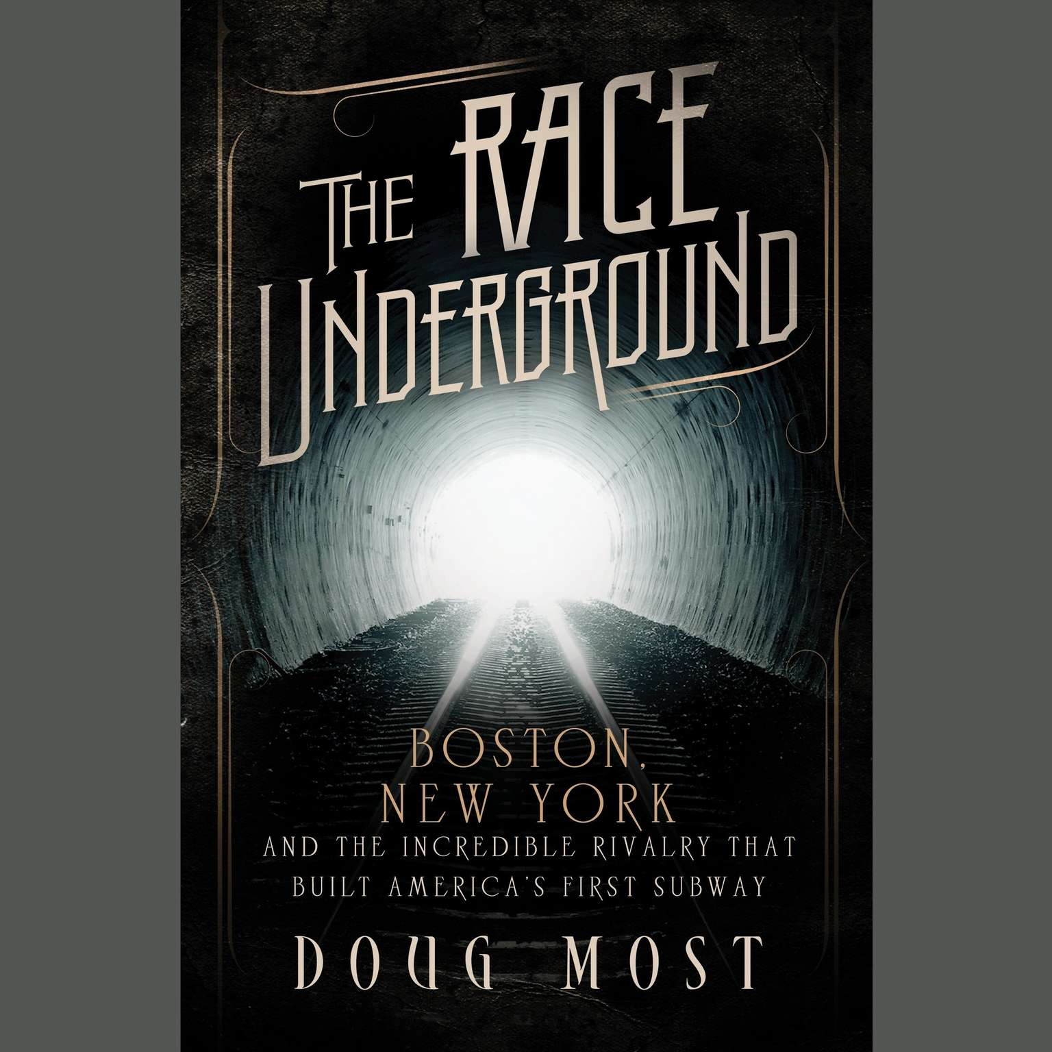 Printable The Race Underground: Boston, New York, and the Incredible Rivalry That Built America's First Subway Audiobook Cover Art