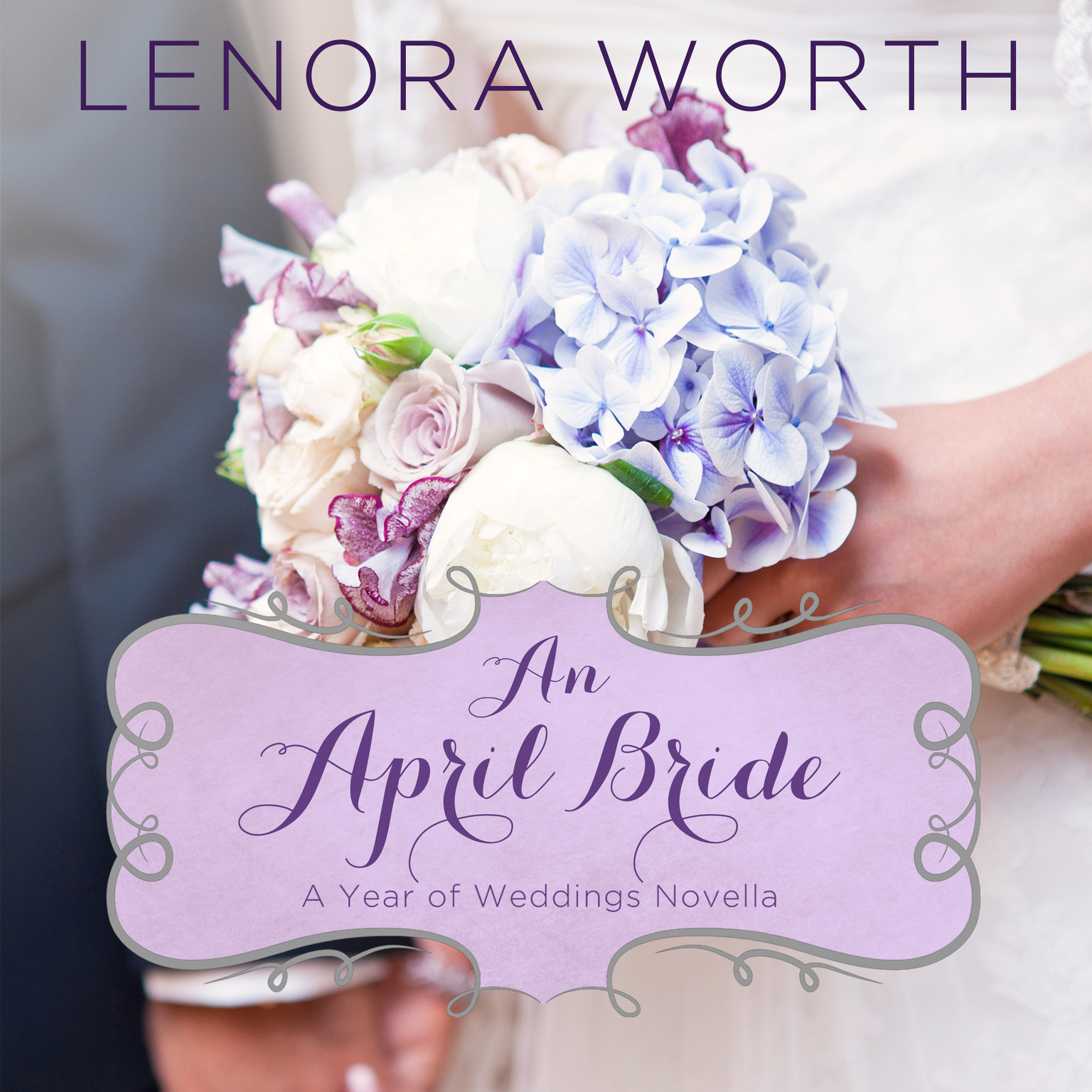 Printable An April Bride Audiobook Cover Art