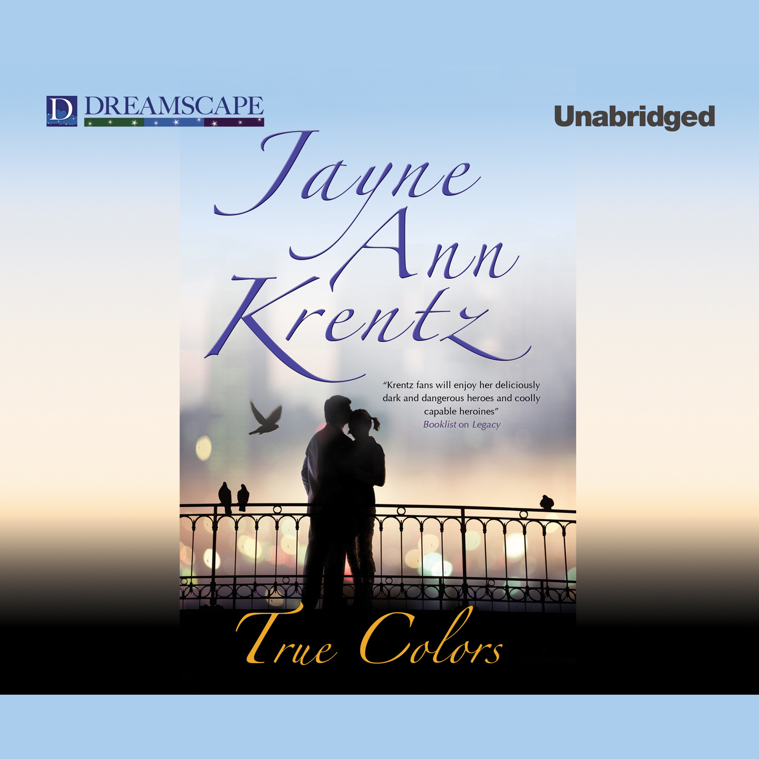 Printable True Colors Audiobook Cover Art
