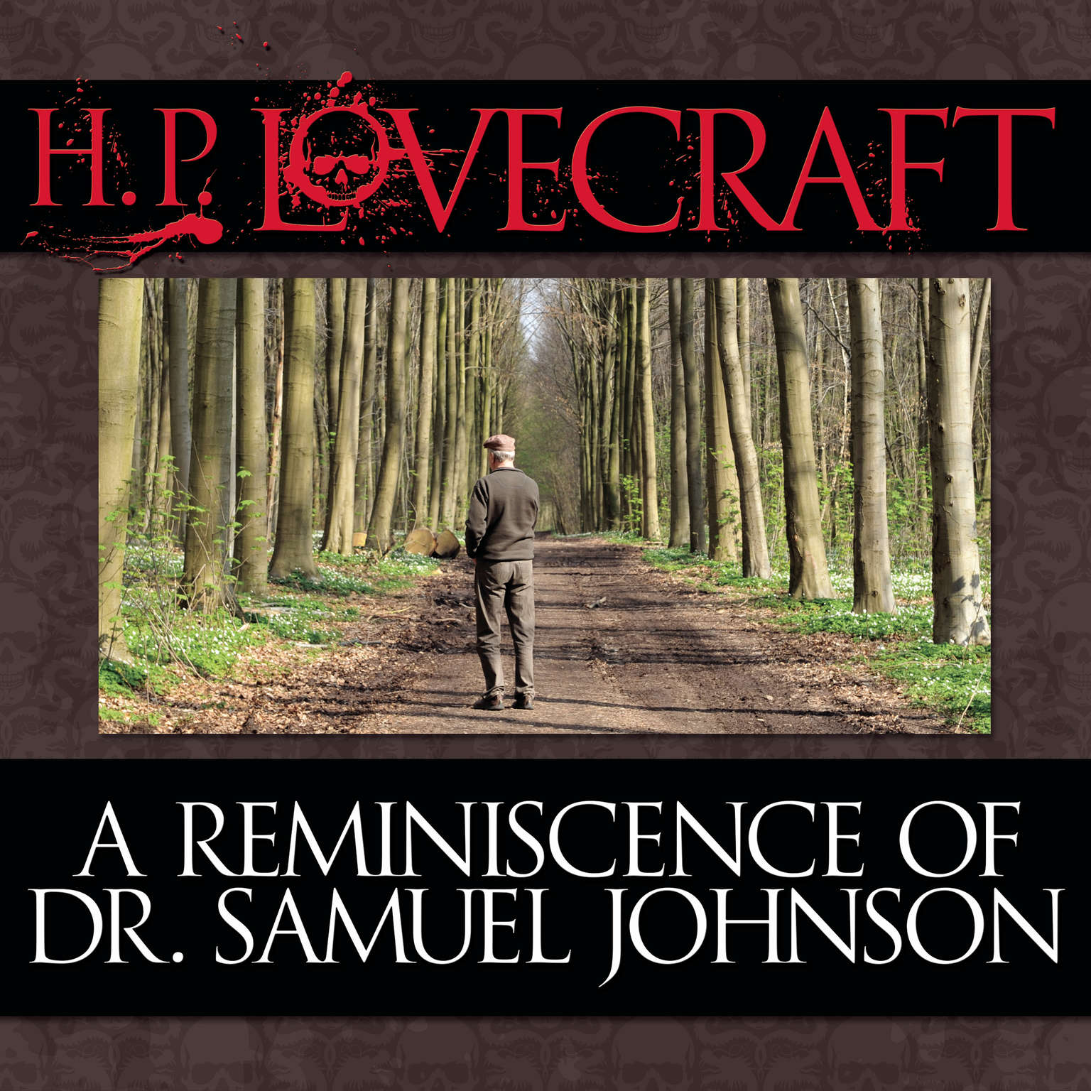 Printable A Reminiscence Dr. Samuel Johnson Audiobook Cover Art
