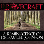 A Reminiscence of Dr. Samuel Johnson Audiobook, by H. P. Lovecraft