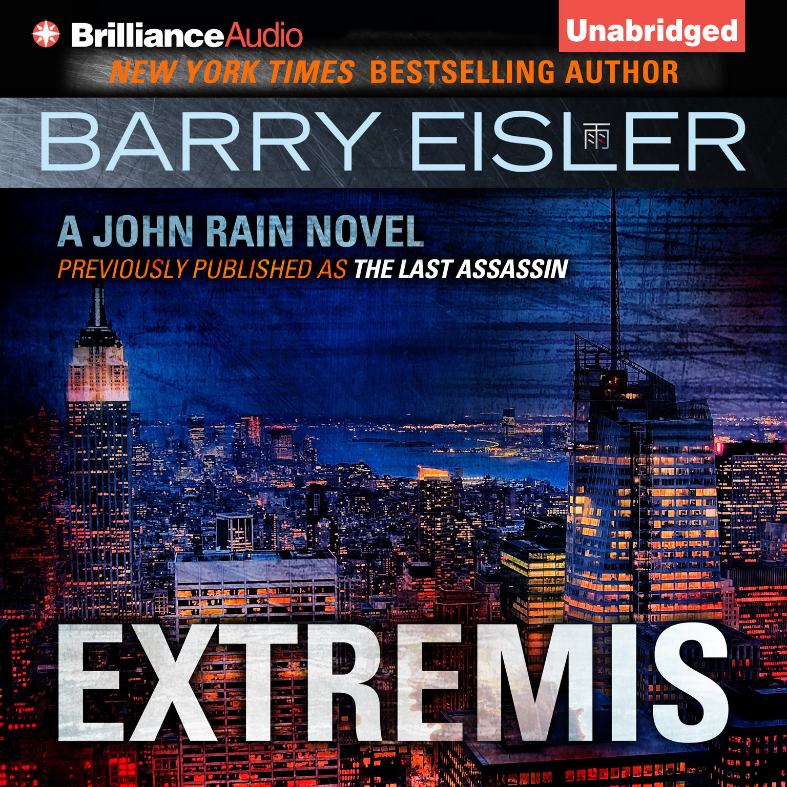 Printable Extremis: A John Rain Novel Audiobook Cover Art