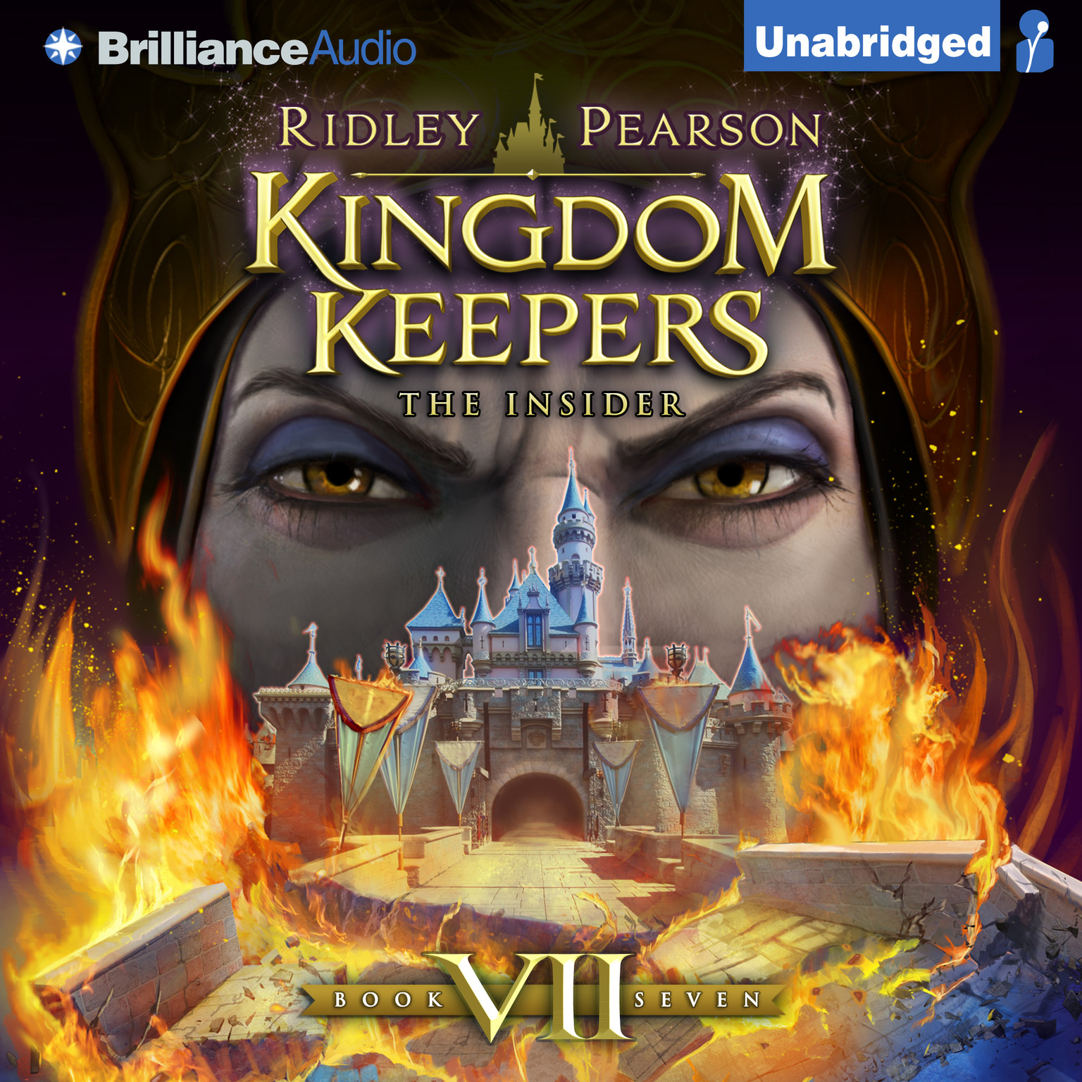 Printable Kingdom Keepers VII: The Insider Audiobook Cover Art