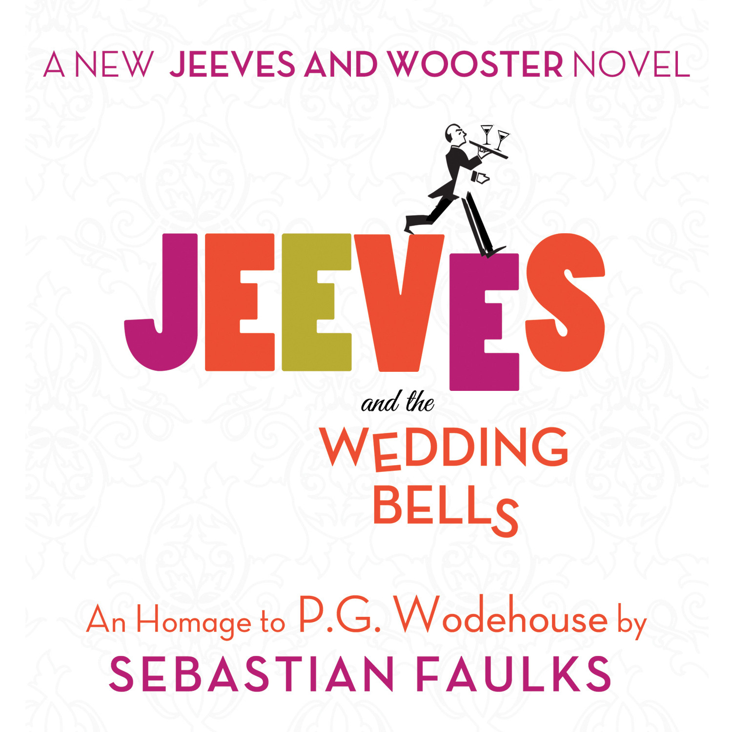 Printable Jeeves and the Wedding Bells: An Homage to P.G. Wodehouse Audiobook Cover Art
