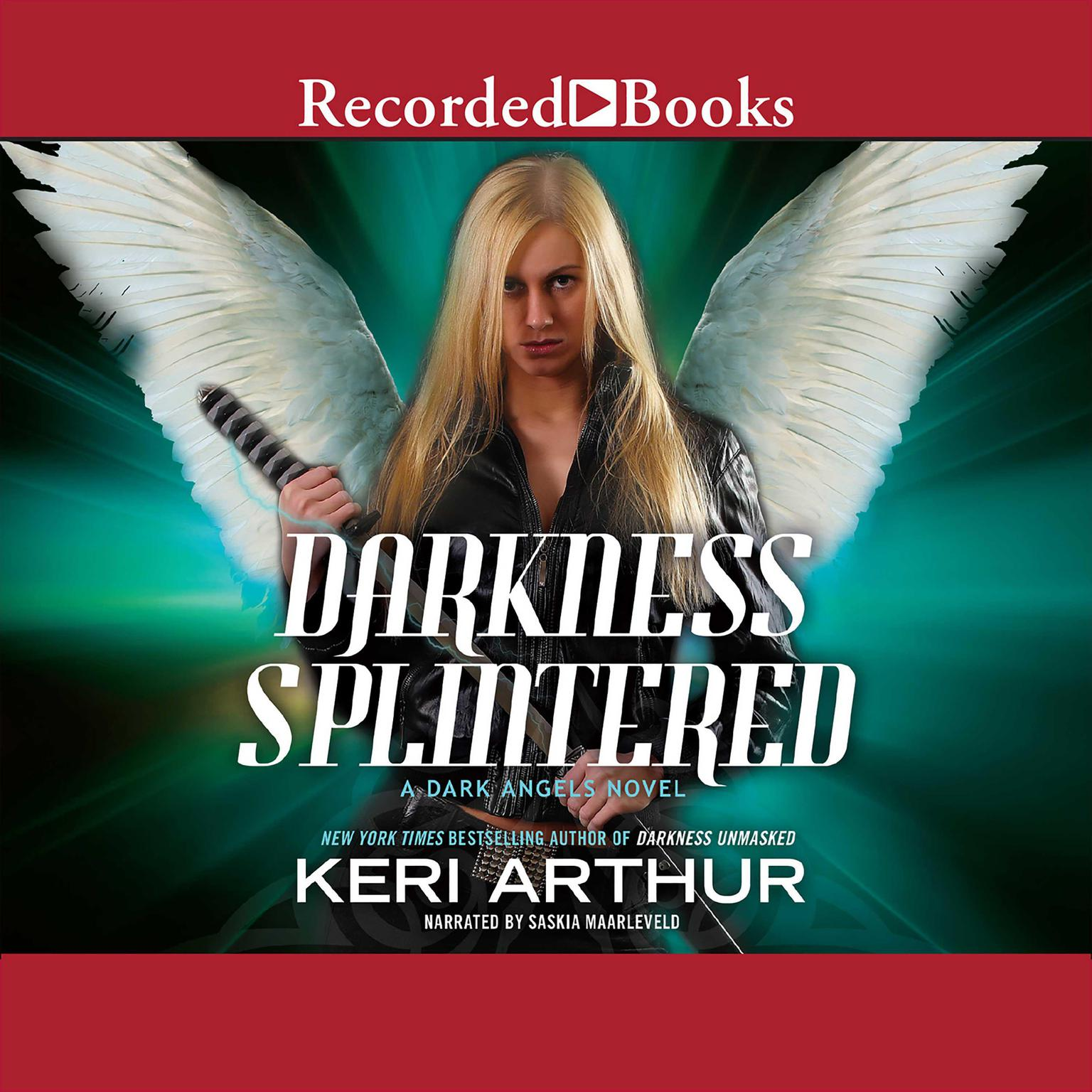 Printable Darkness Splintered: A Dark Angels Novel Audiobook Cover Art
