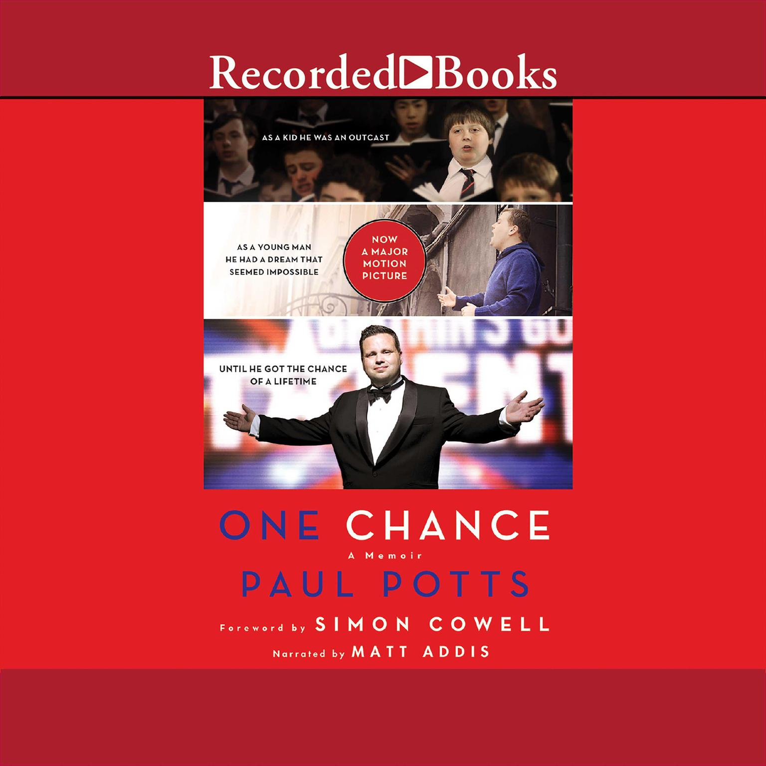 Printable One Chance Audiobook Cover Art
