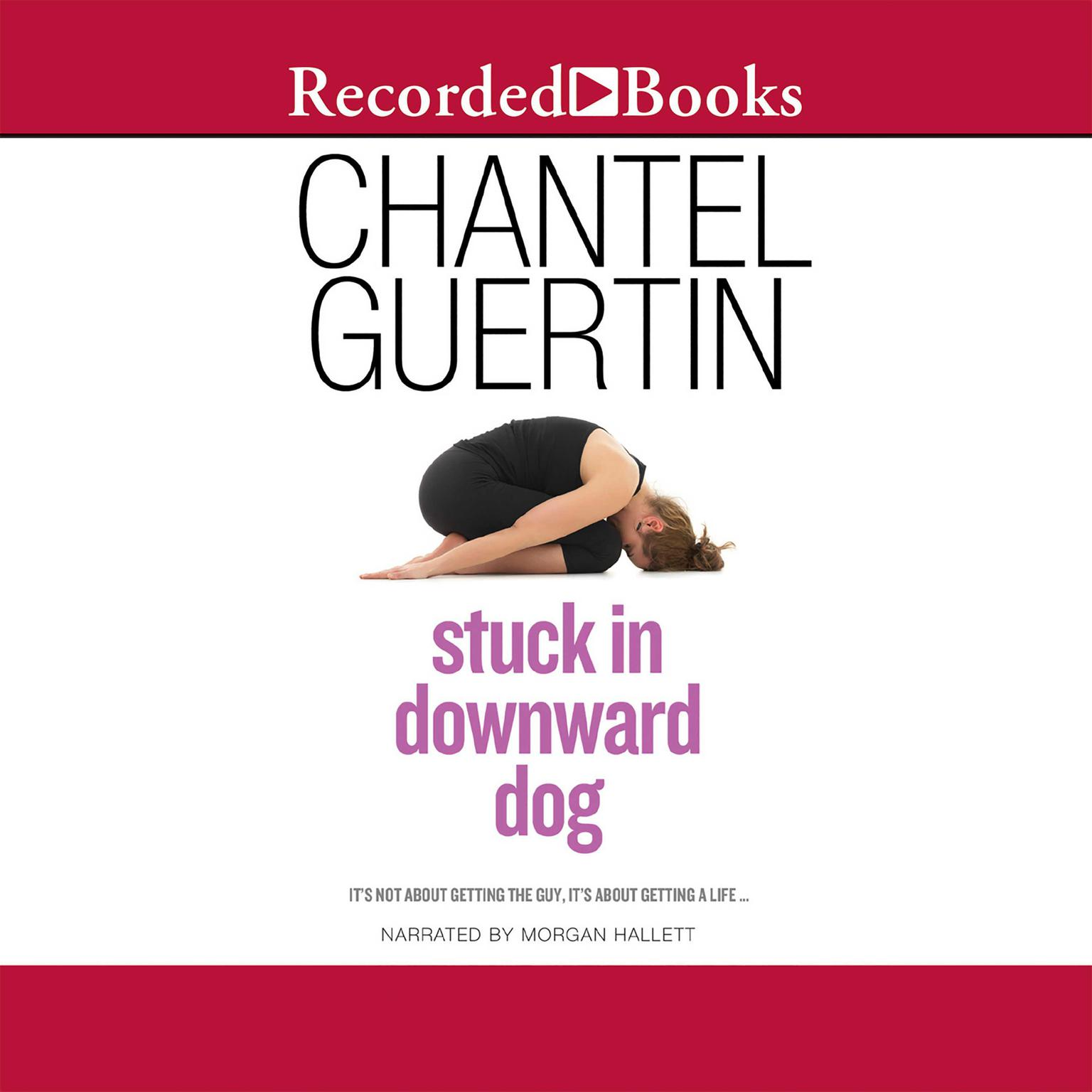 Printable Stuck in Downward Dog Audiobook Cover Art