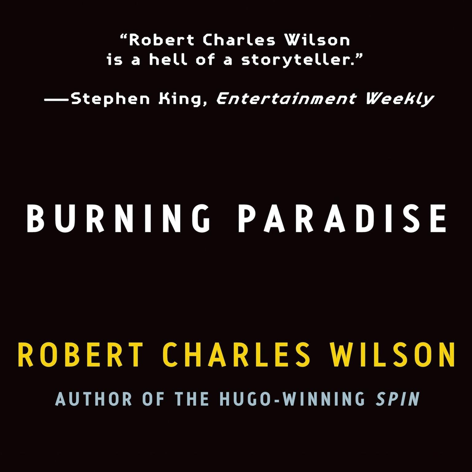 Printable Burning Paradise Audiobook Cover Art