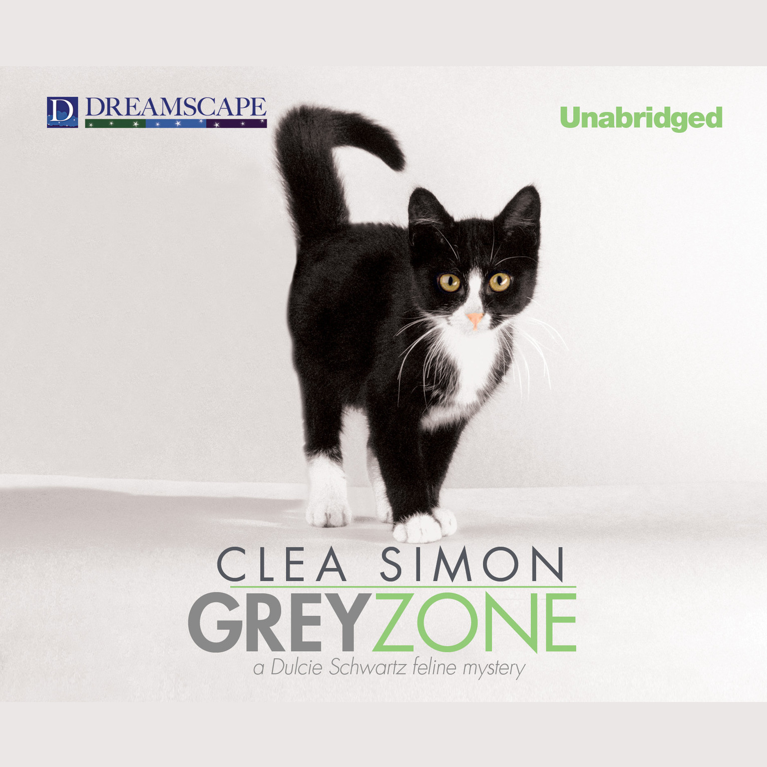 Printable Grey Zone: A Dulcie Schwartz Feline Mystery Audiobook Cover Art