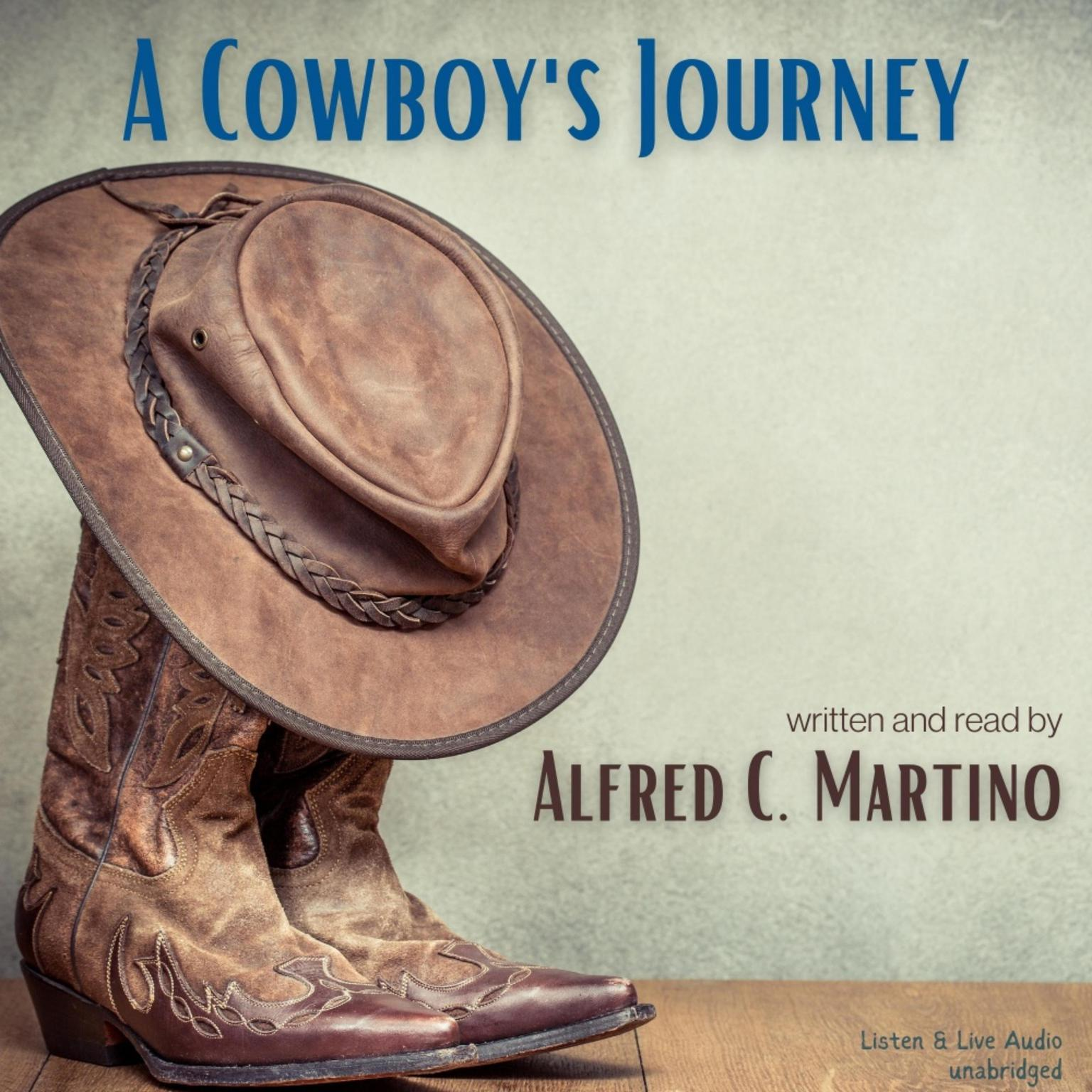 Printable A Cowboy's Journey Audiobook Cover Art