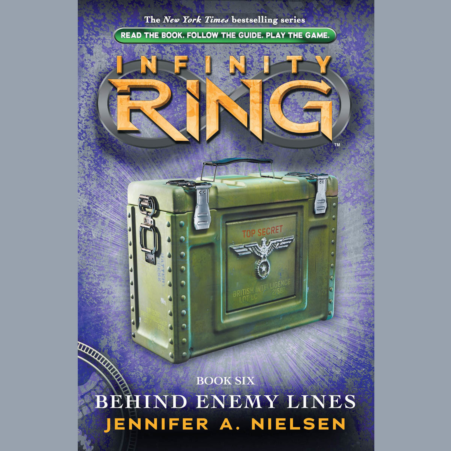 Printable Behind Enemy Lines Audiobook Cover Art