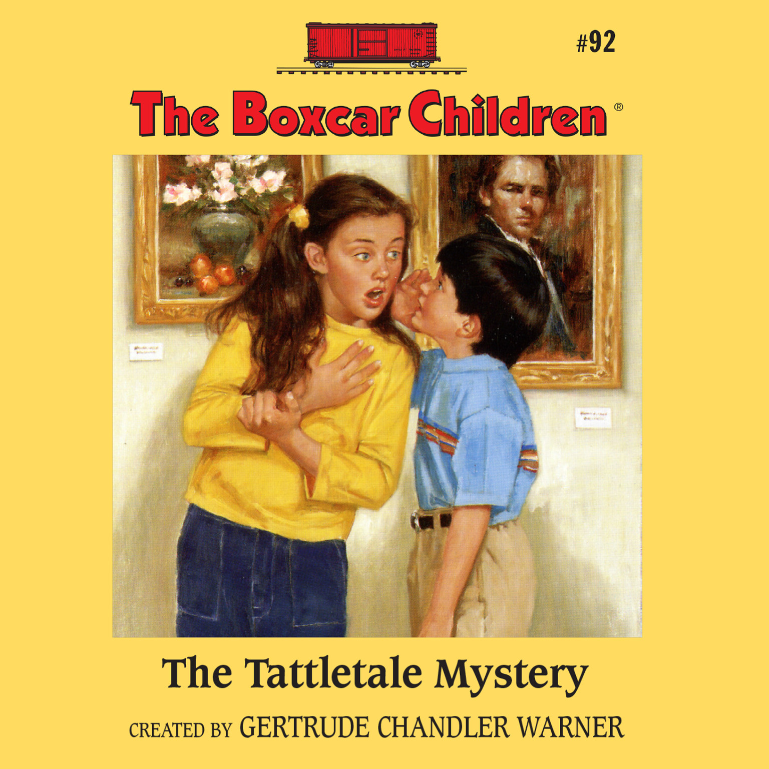 Printable The Tattletale Mystery Audiobook Cover Art