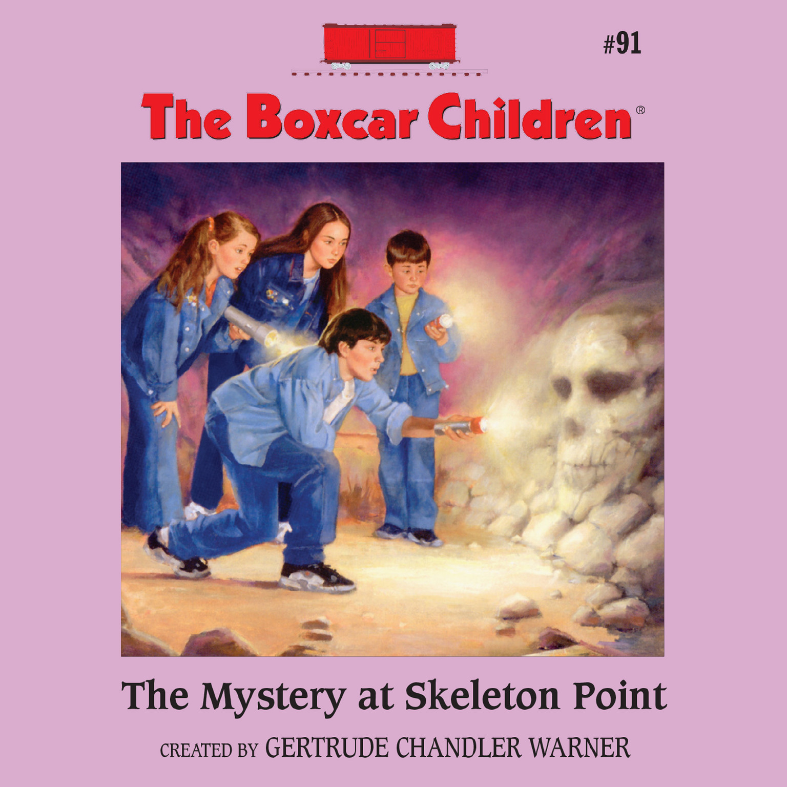 Printable The Mystery at Skeleton Point Audiobook Cover Art