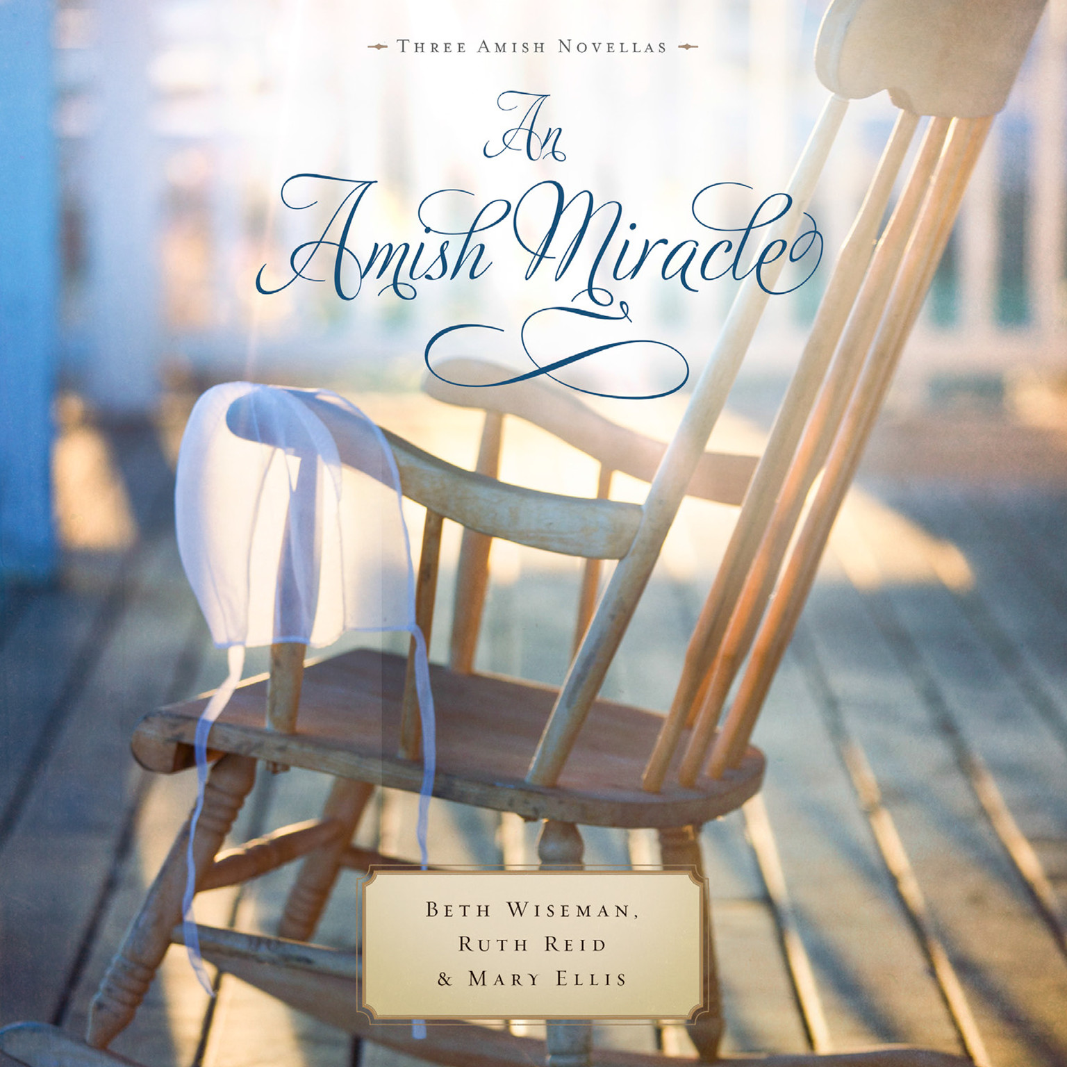 Printable An Amish Miracle Audiobook Cover Art